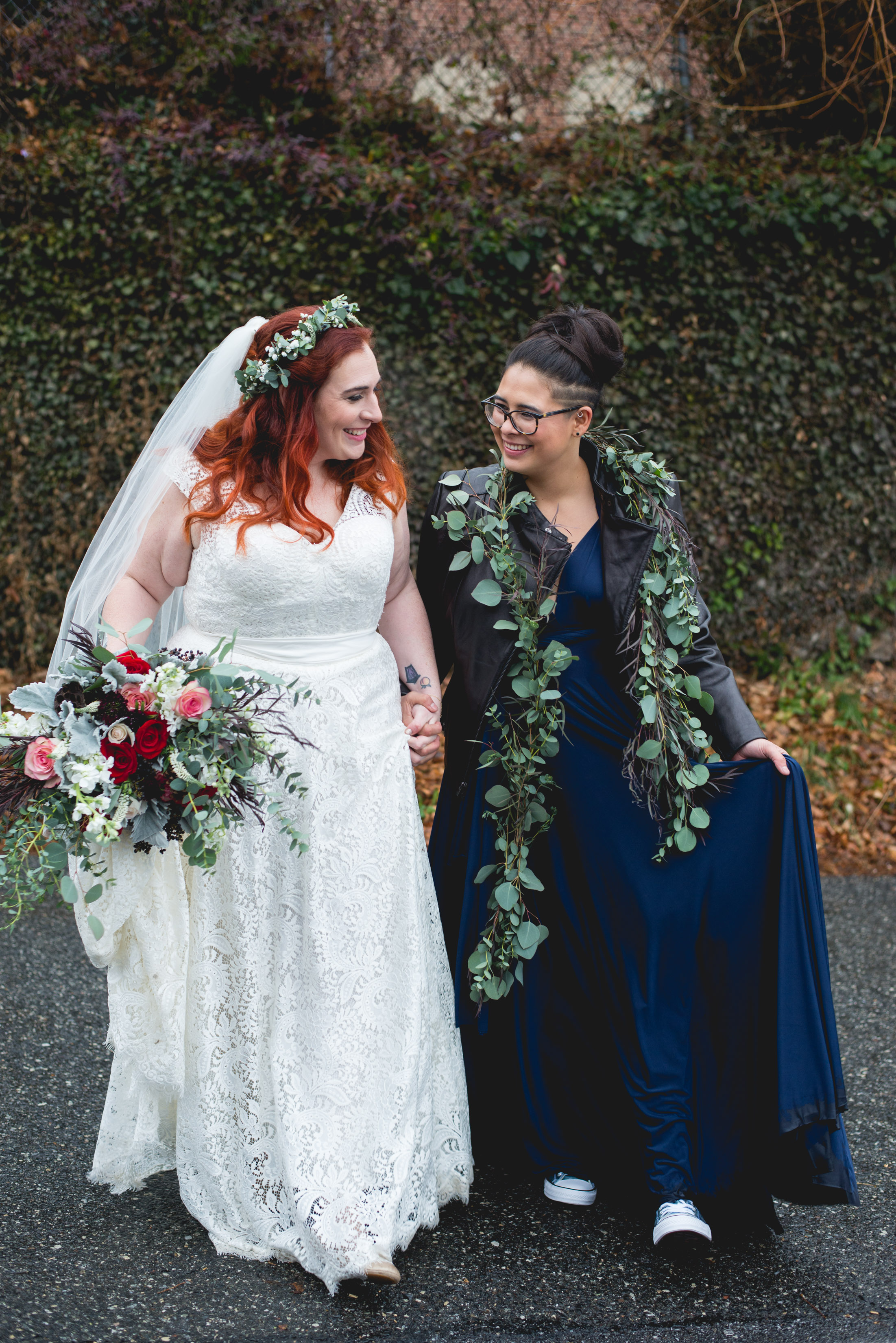 Queer Wedding Philadelphia Elopement by the lesbian photographer 22