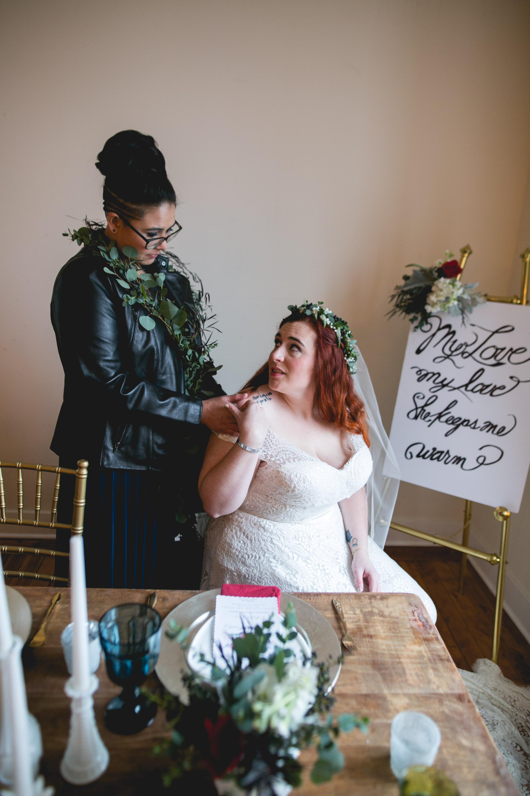 LGBTQ Philadelphia Wedding by Swiger Photography the Lesbian photographer 25