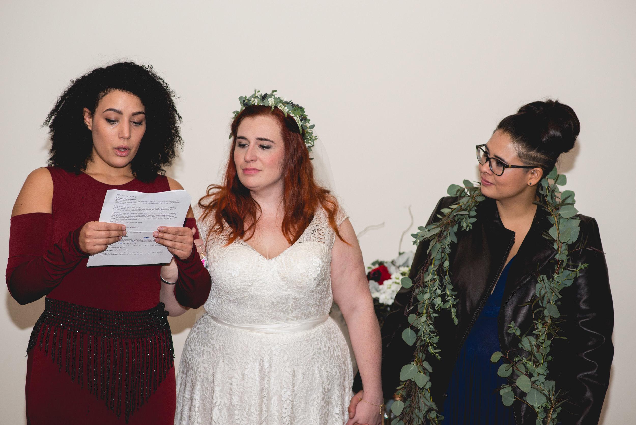 Patriotic LGBTQ Winter Styled Wedding 44