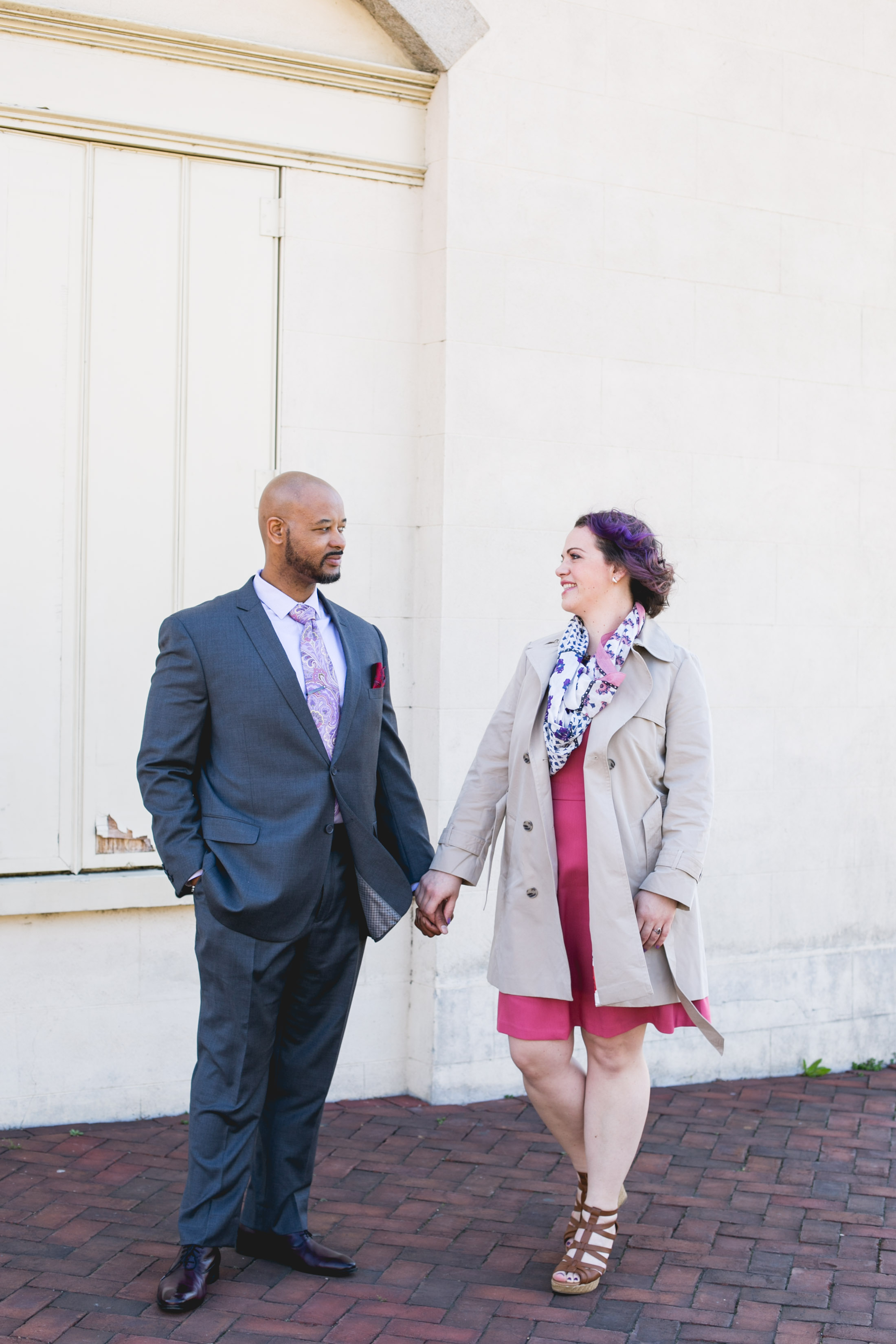Interacial Philly Engagement Shoot