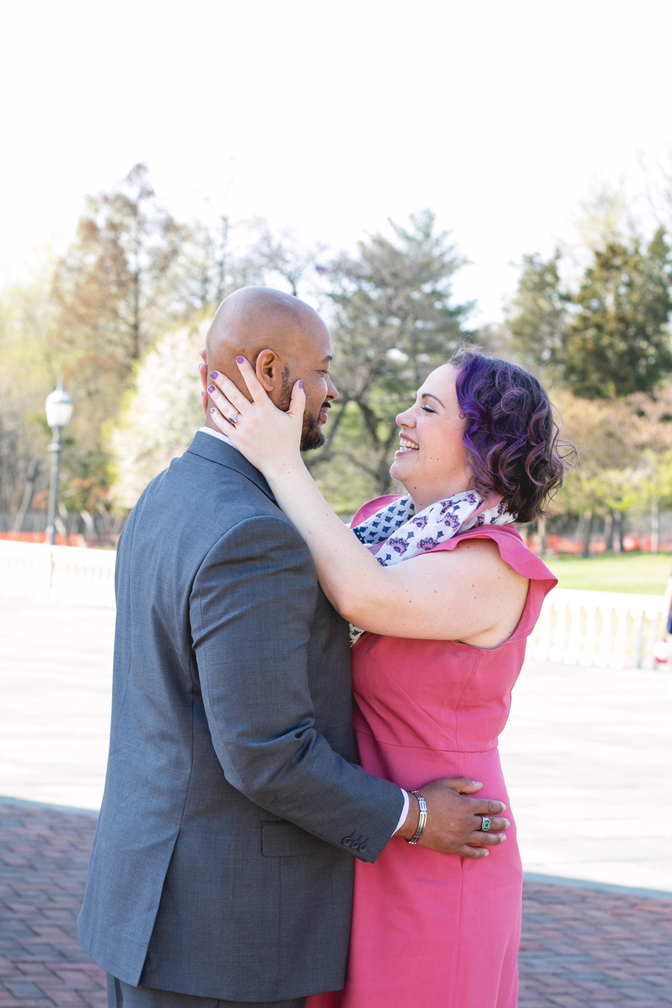 Vibrant Spring Philadelphia Engagement Shoot 2