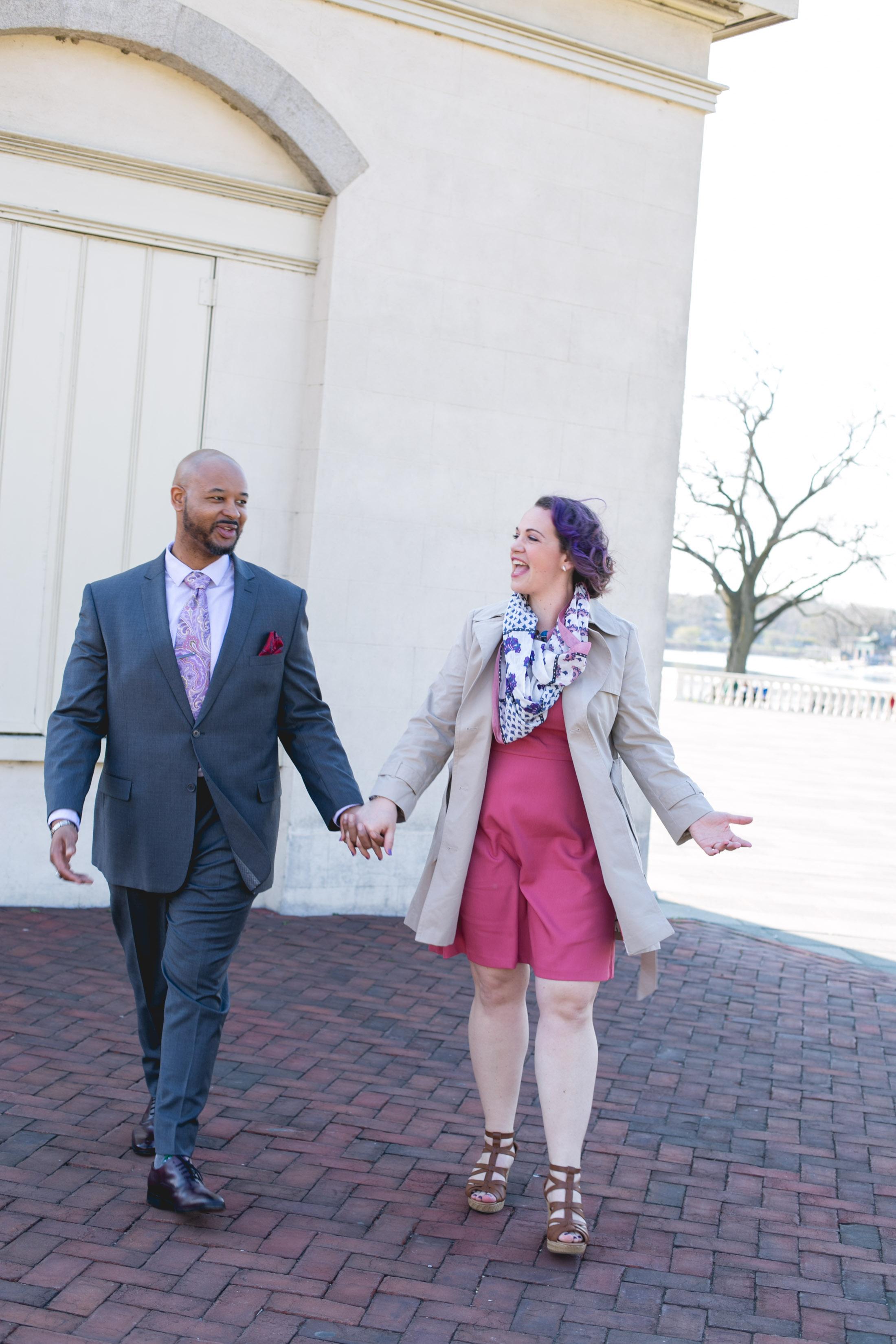 Philadelphia Spring Interacial Vibrant Engagement Shoot 9