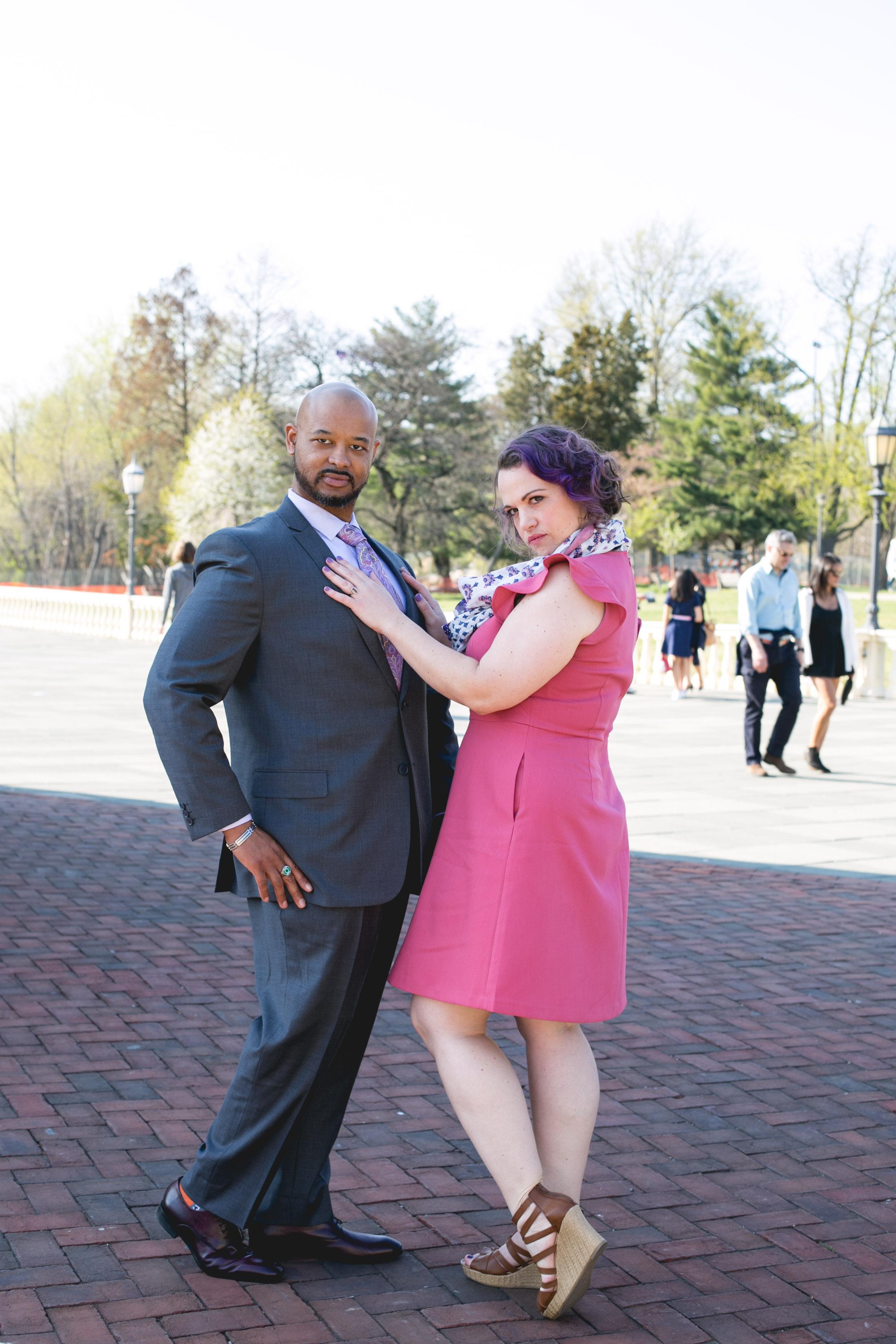 Vibrant Spring Philadelphia Engagement Shoot 3