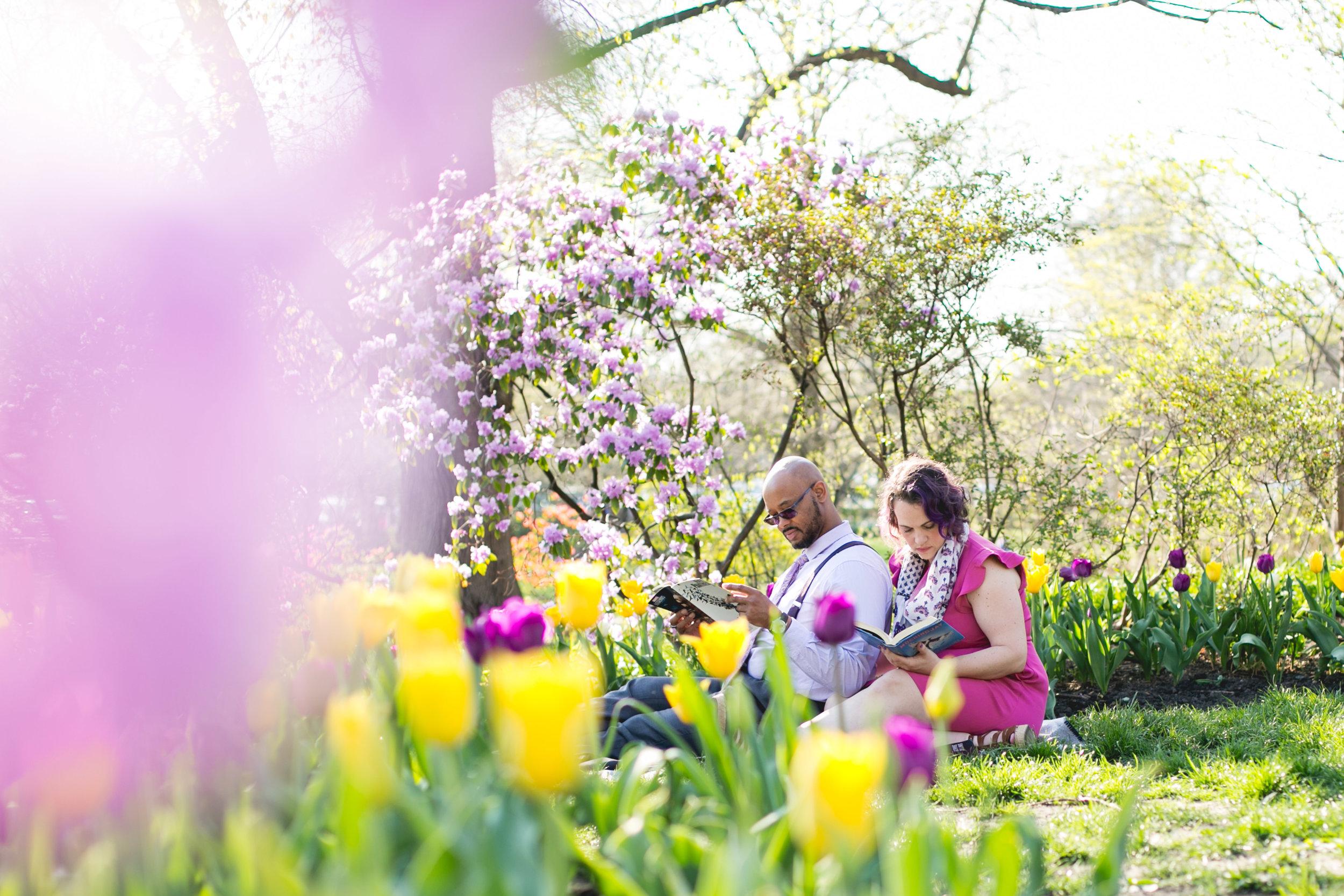 Vibrant Spring Philadelphia Engagement Shoot 4