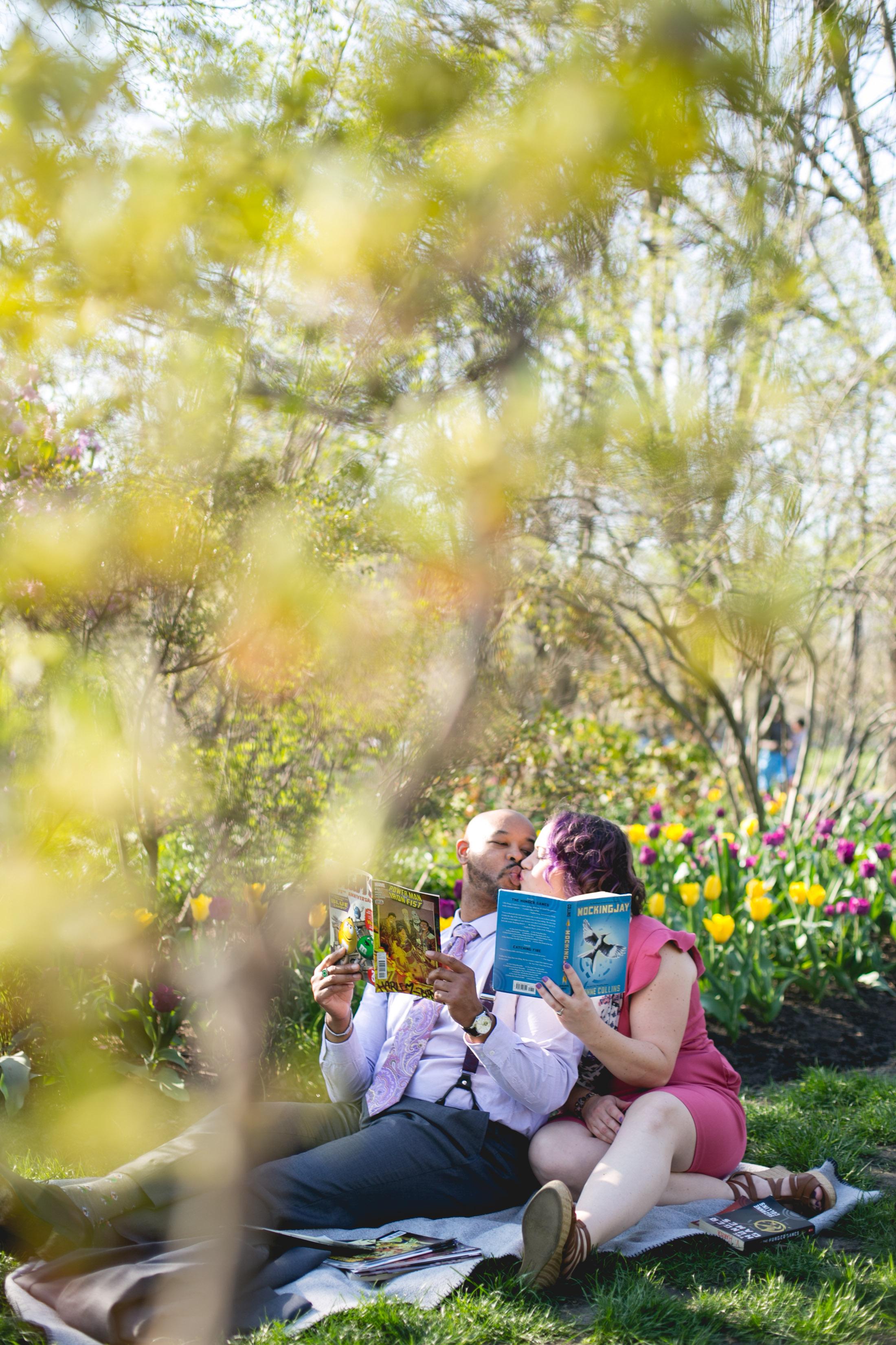 Vibrant Spring Philadelphia Engagement Shoot 5