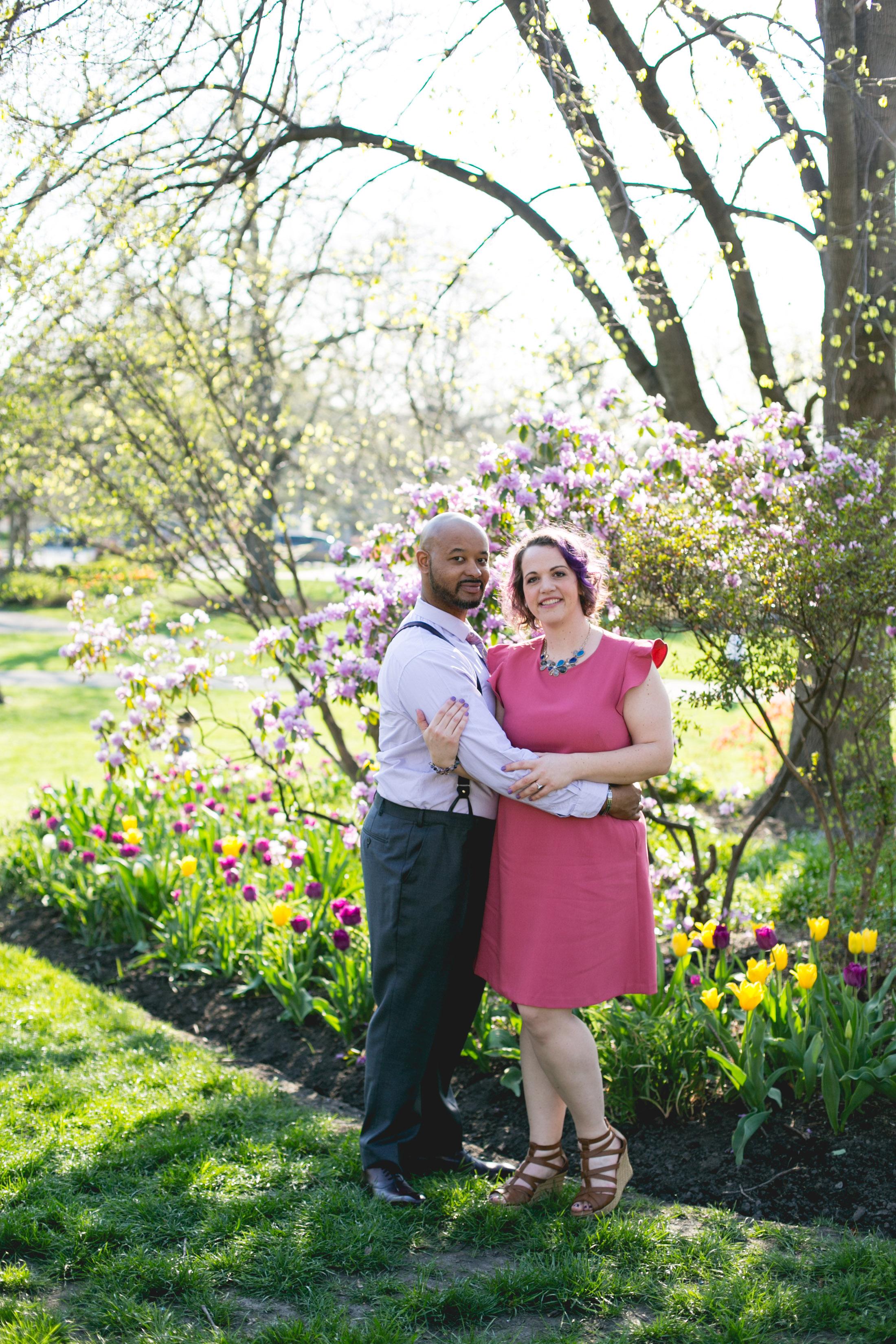 Vibrant Spring Philadelphia Engagement Shoot 6