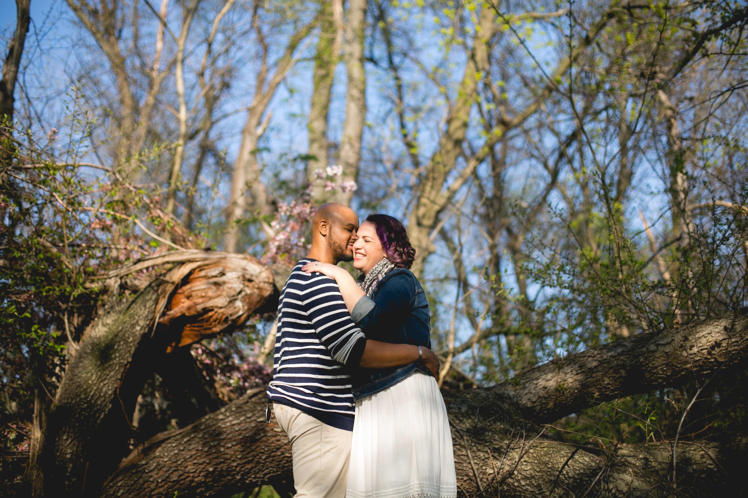 Philadelphia Spring Interacial Vibrant Engagement Shoot 4