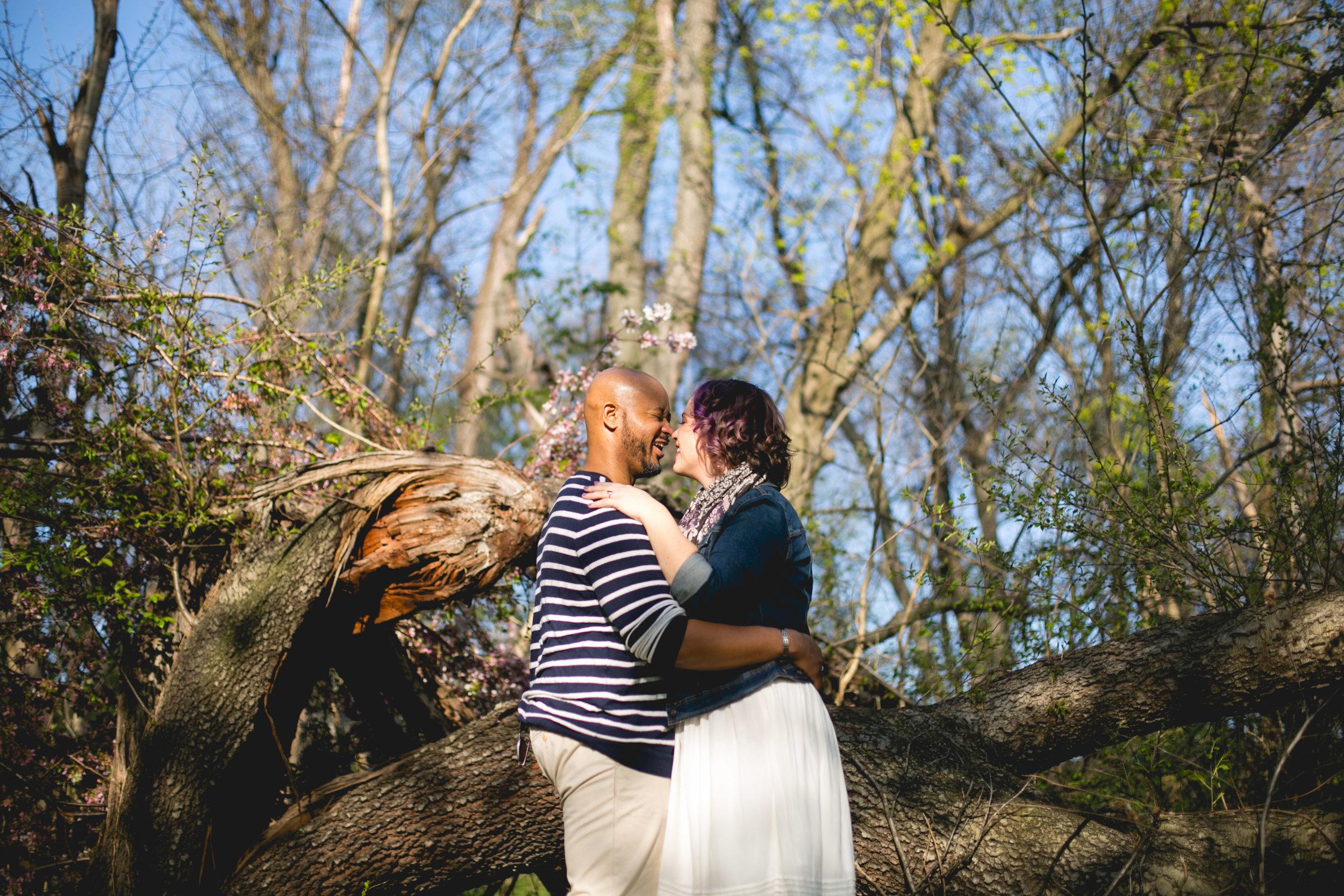 Vibrant Spring Philadelphia Engagement Shoot 8