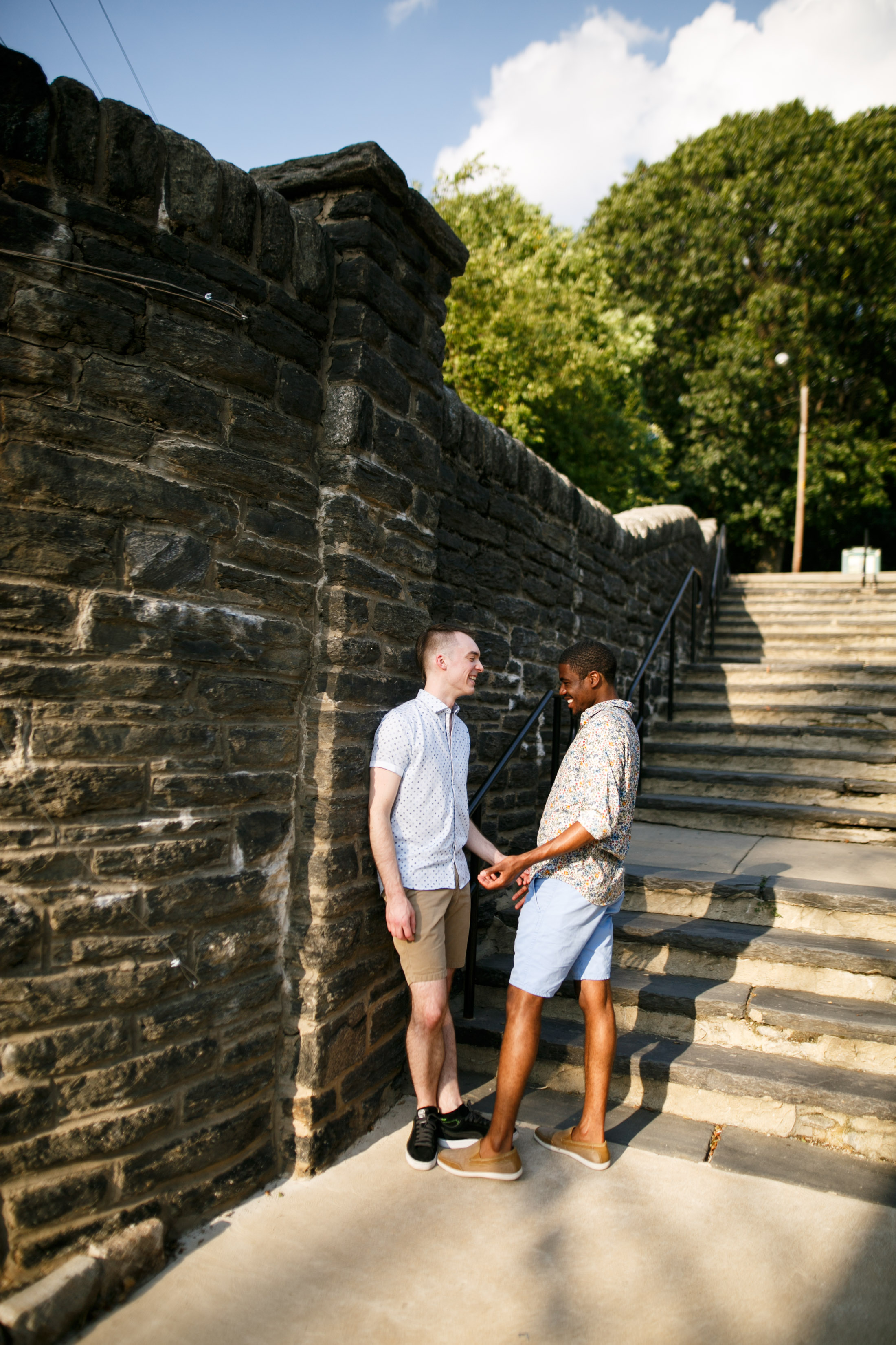 Queer Love Portrait Session Manayunk Philadelphia
