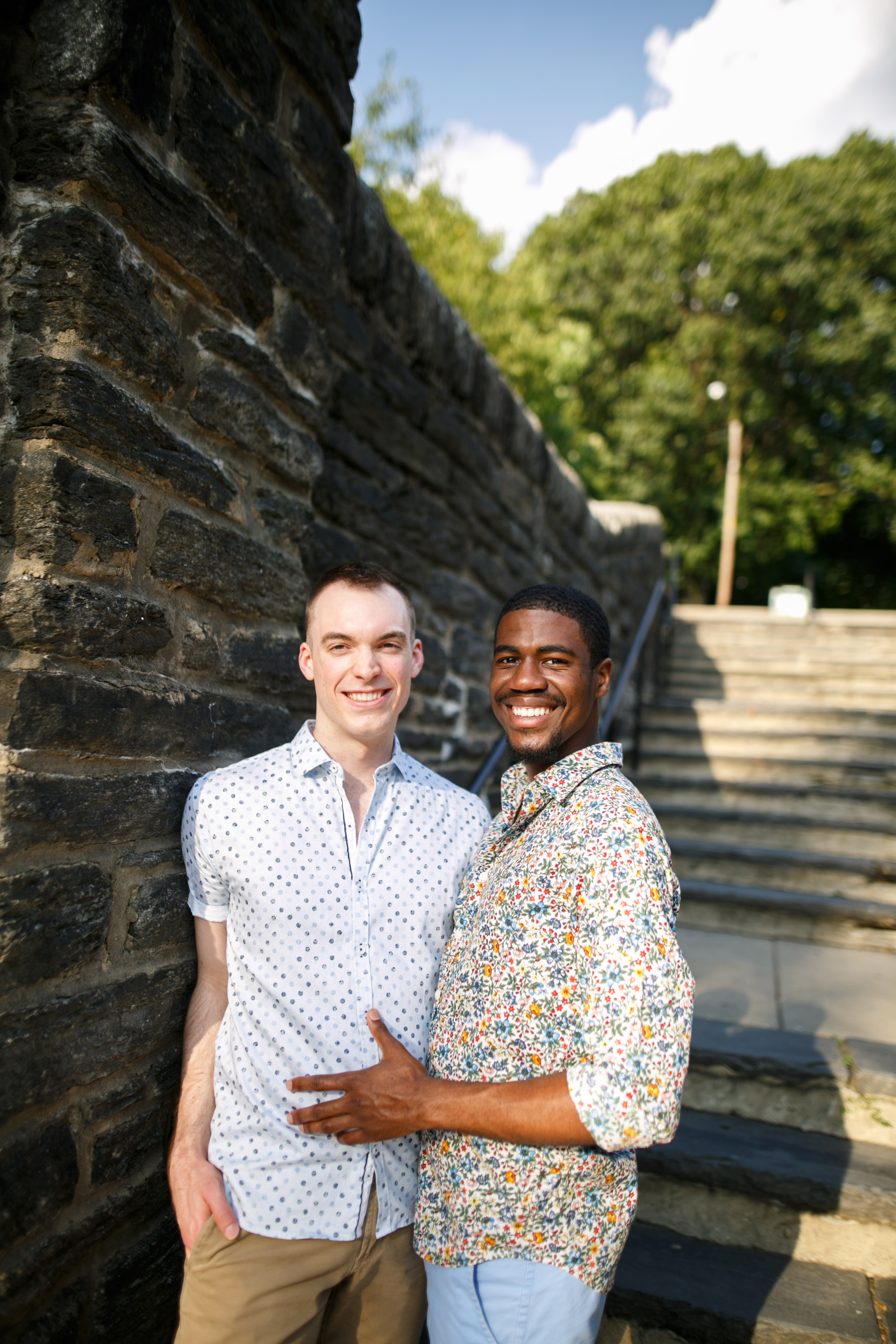 Queer Love Portrait Session Manayunk Philadelphia 3