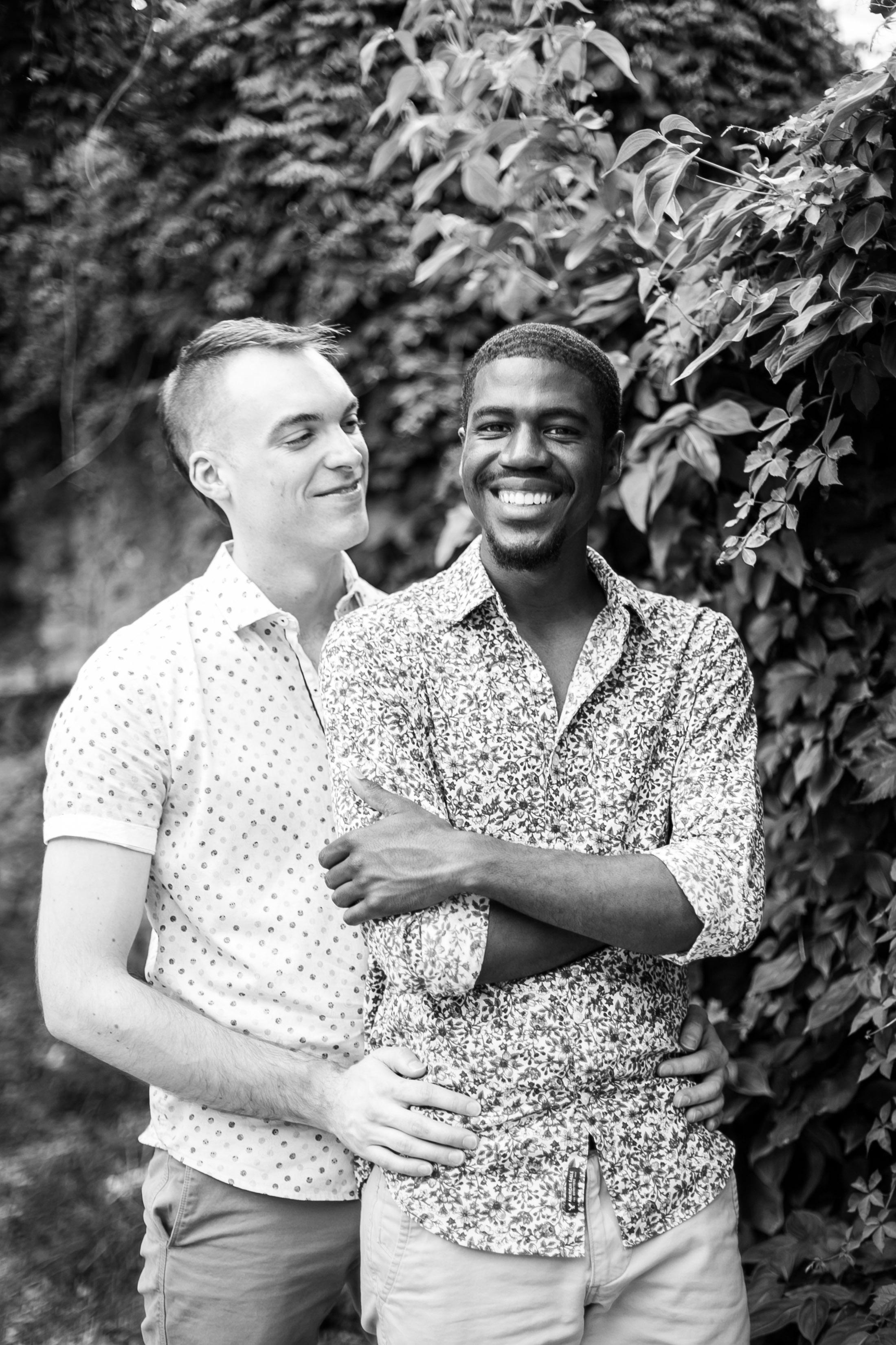Queer Love Portrait Session Manayunk Philadelphia 7