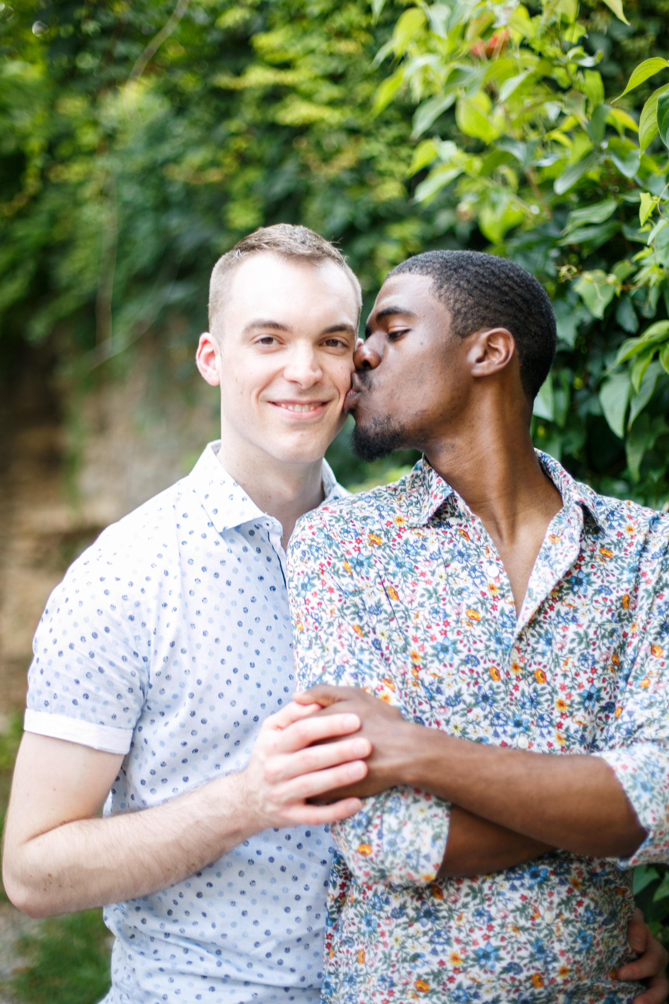 Queer Love Portrait Session Manayunk Philadelphia 8