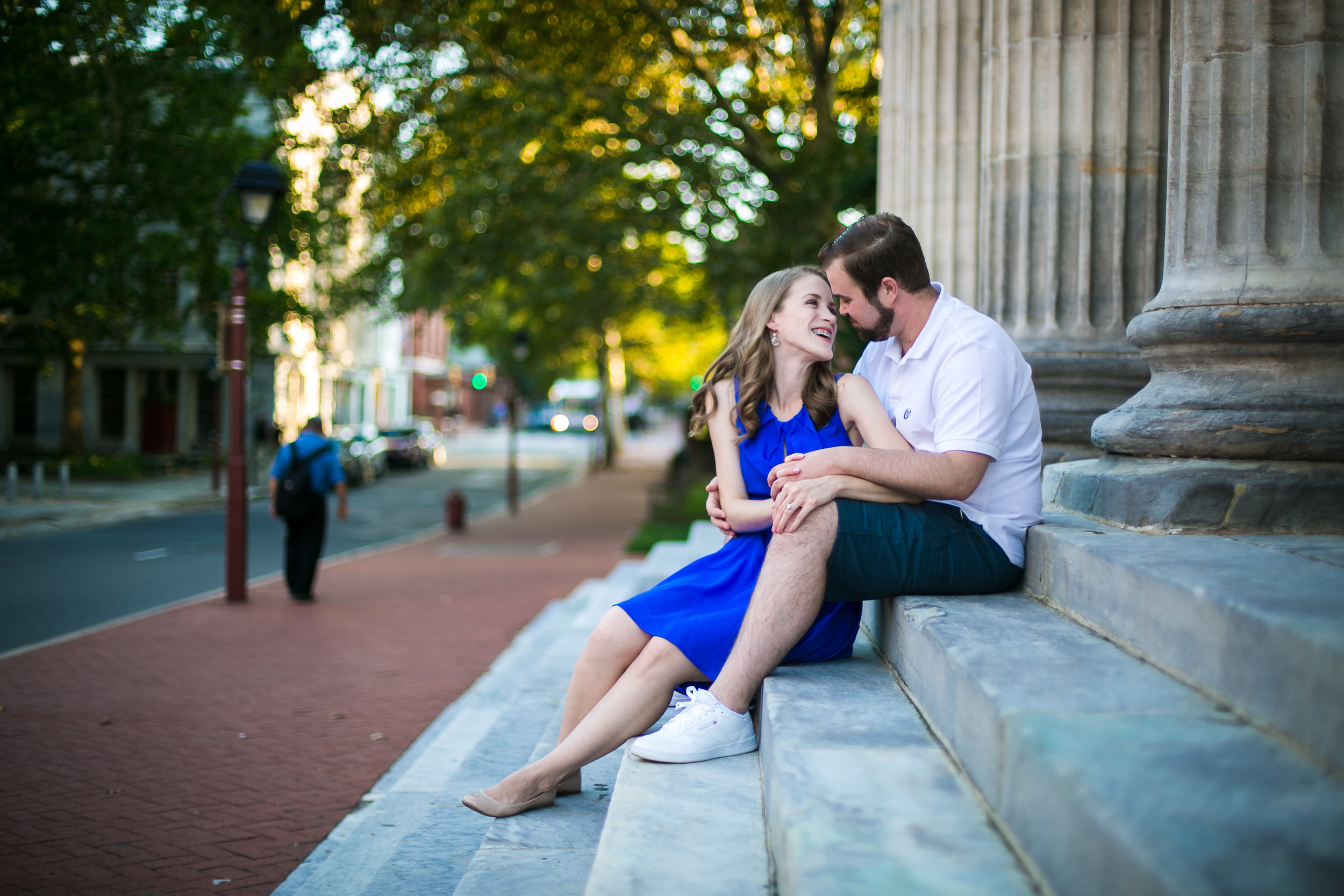Philadelphia Engagement Session in Old City