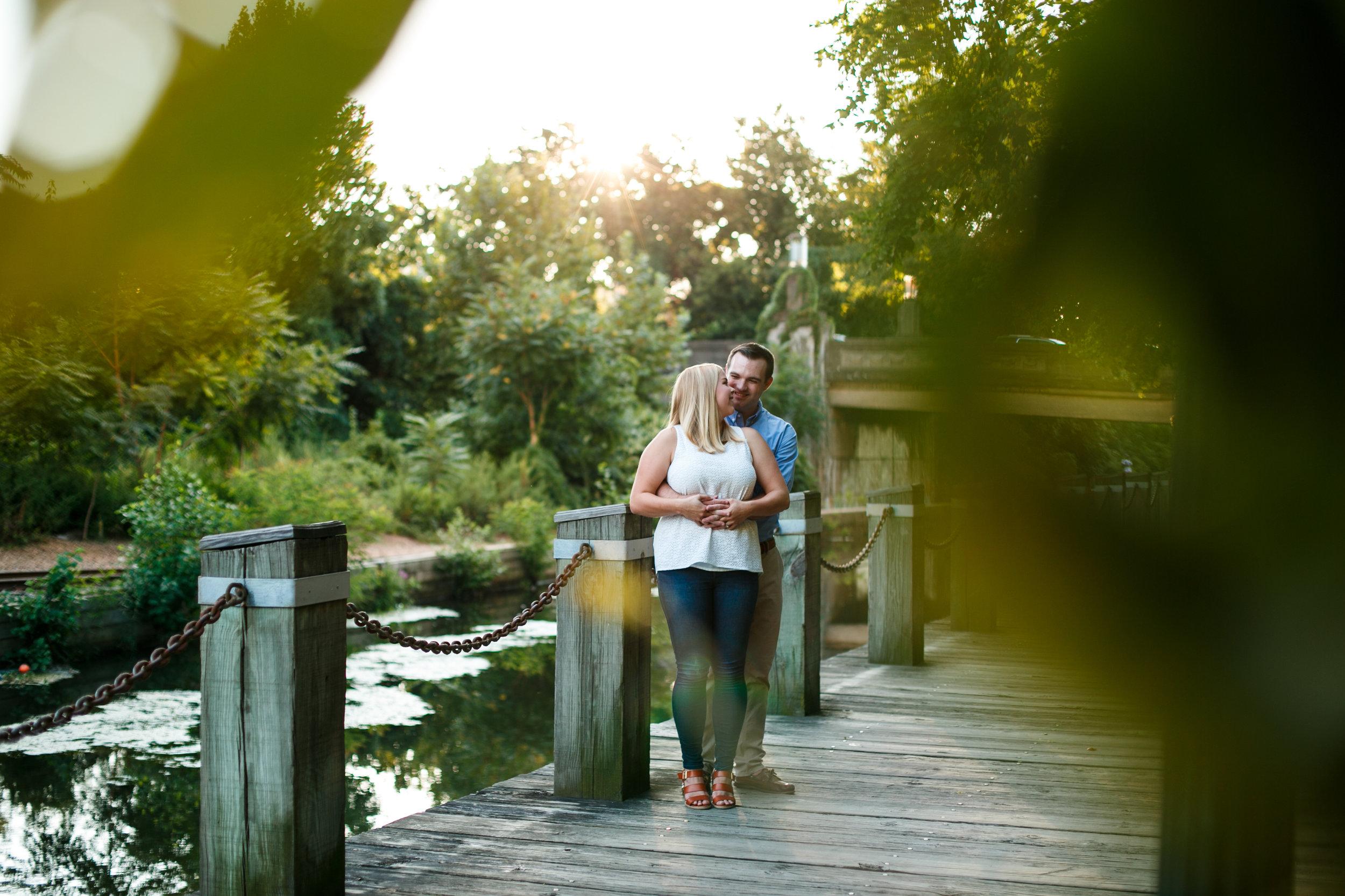 Manayunk Philadelphia Canal Summer Engagement Session 15