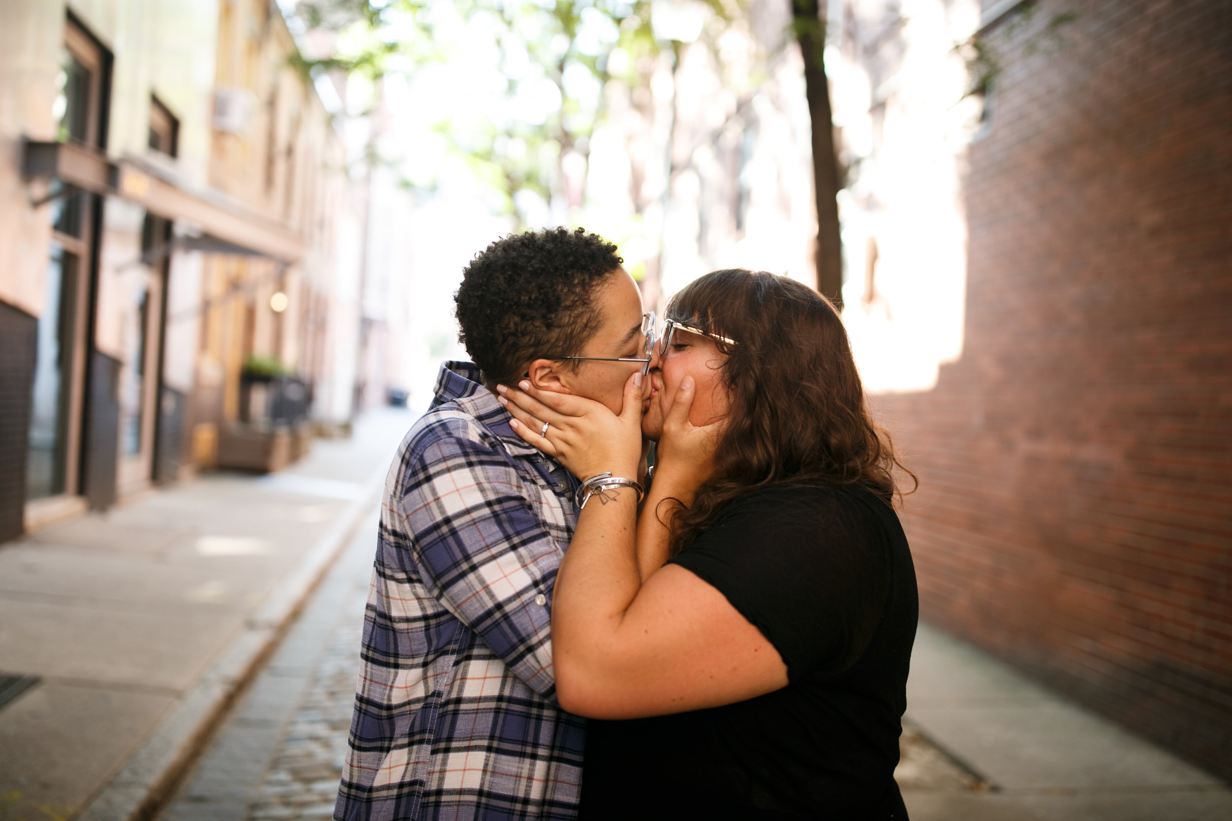 LGBT Posing for Plus Size Couples Philly 6