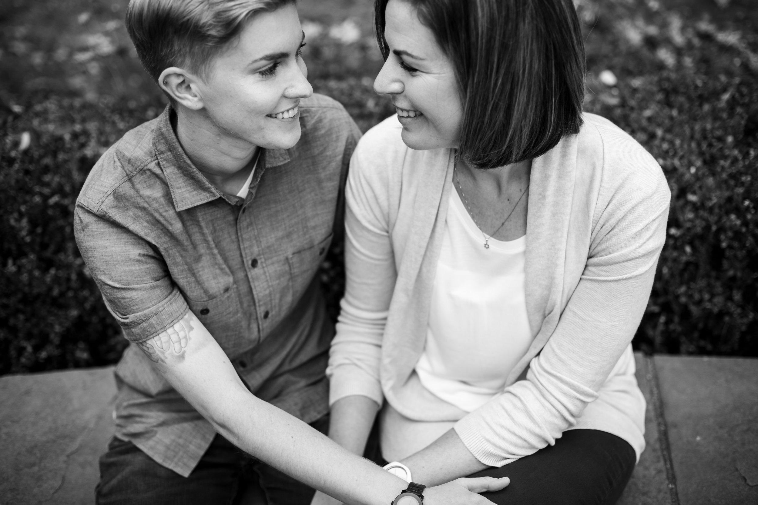 Philadelphia Queer Engagement Session by Lesbian Photographer Amanda Swiger 7