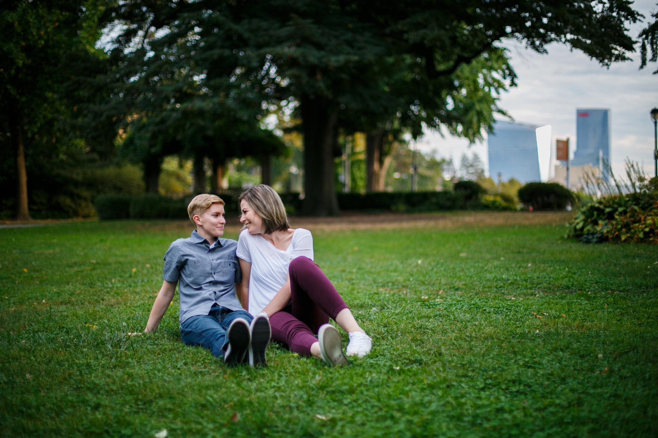 Philadelphia Queer Engagement Session by Lesbian Photographer Amanda Swiger 10