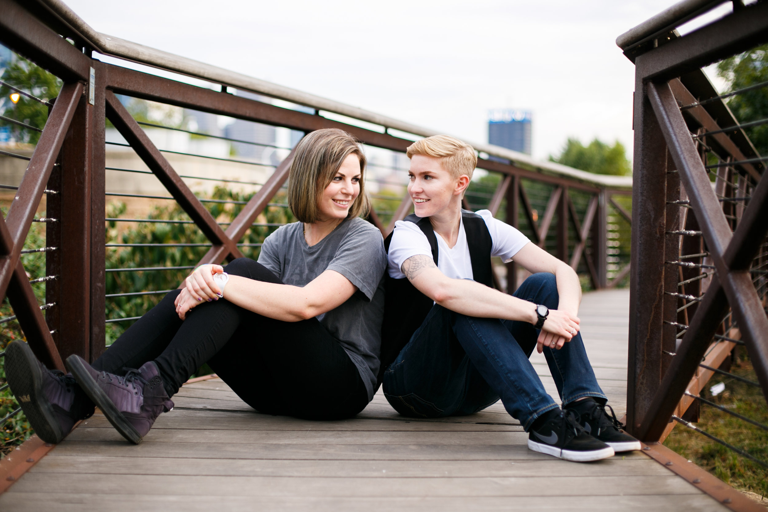 Philly Queer Engagement Photographer at the Museum of Art Philadelphia 15
