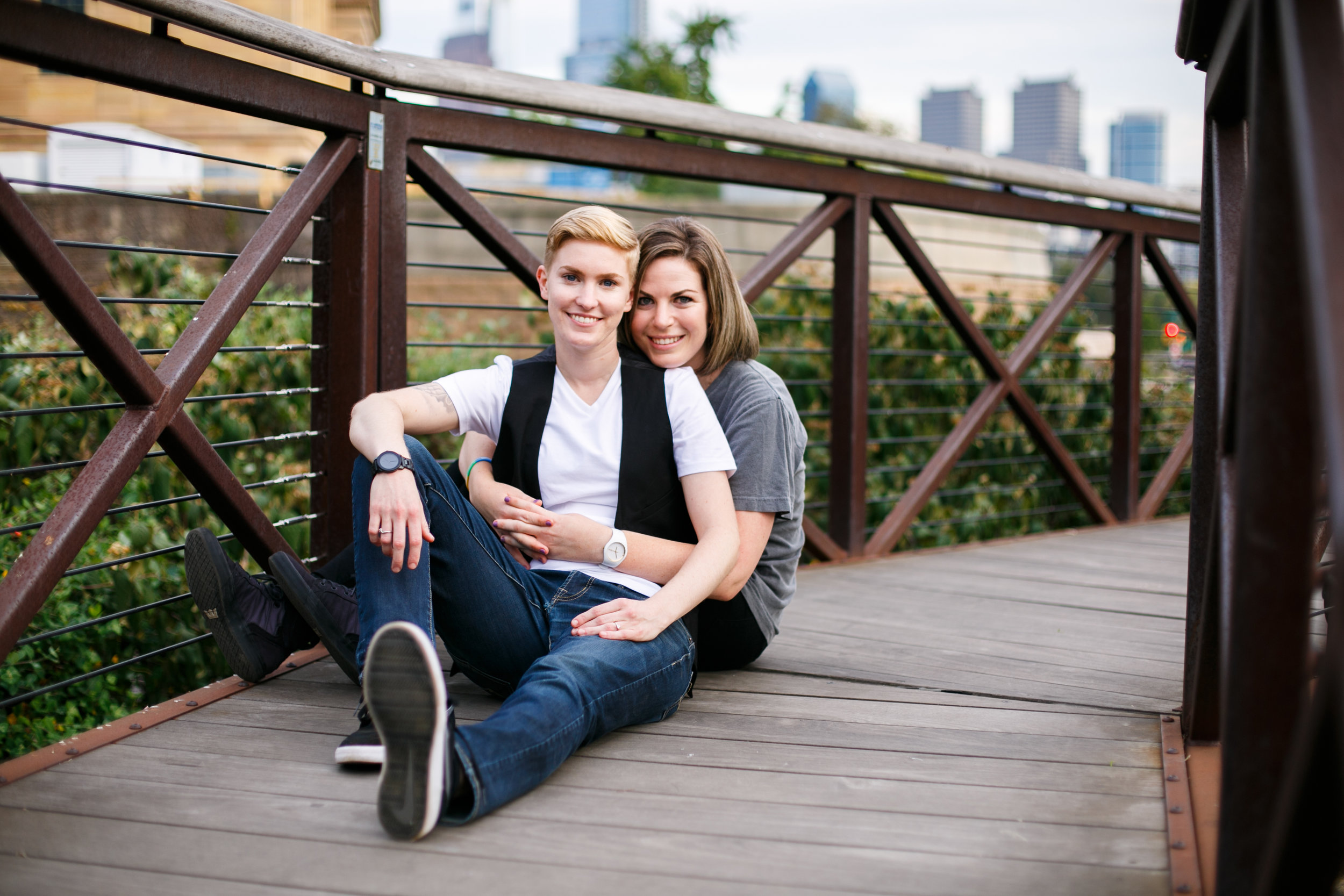 Philadelphia Queer Engagement Session by Lesbian Photographer Amanda Swiger 15