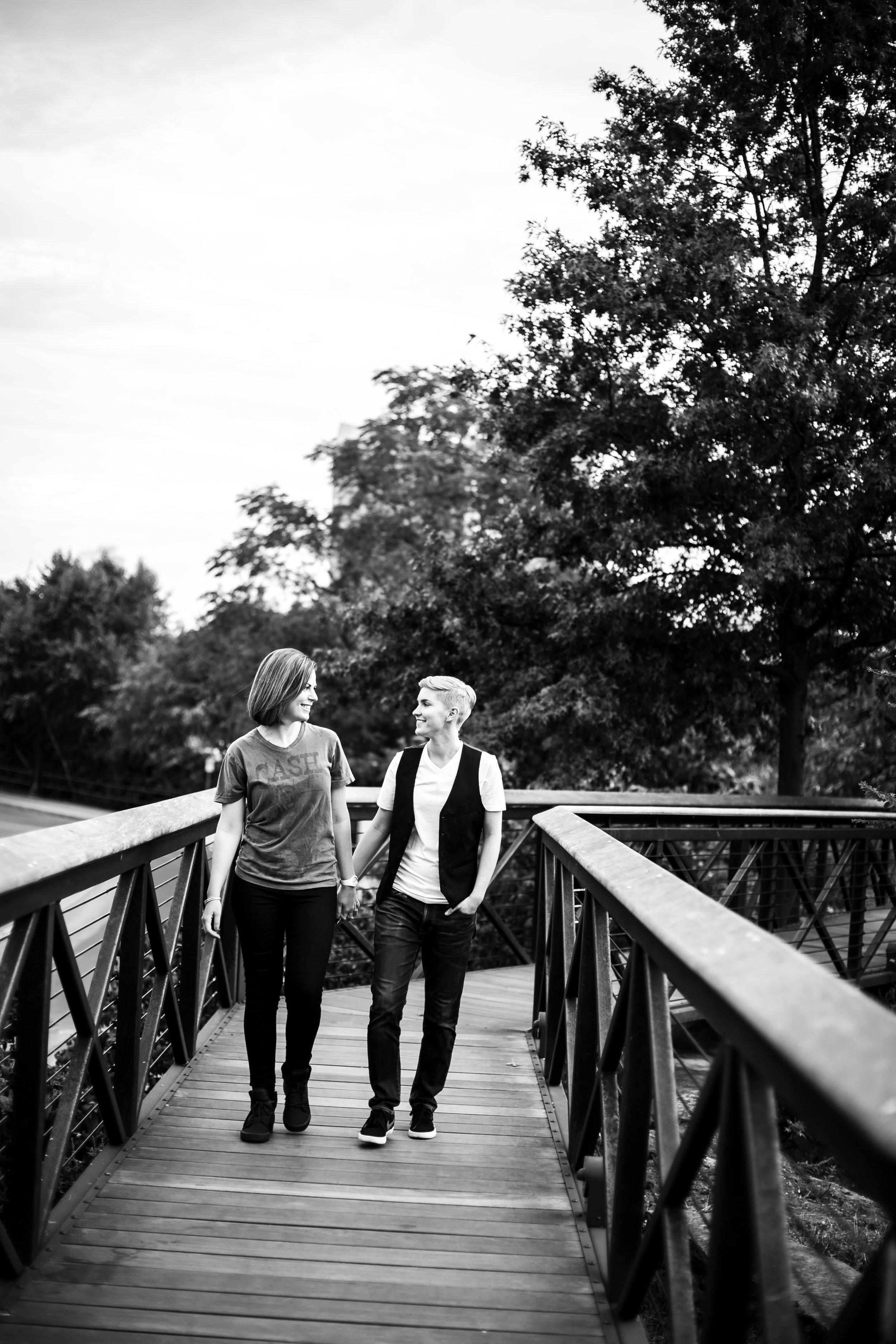 Philadelphia Queer Engagement Session by Lesbian Photographer Amanda Swiger 16