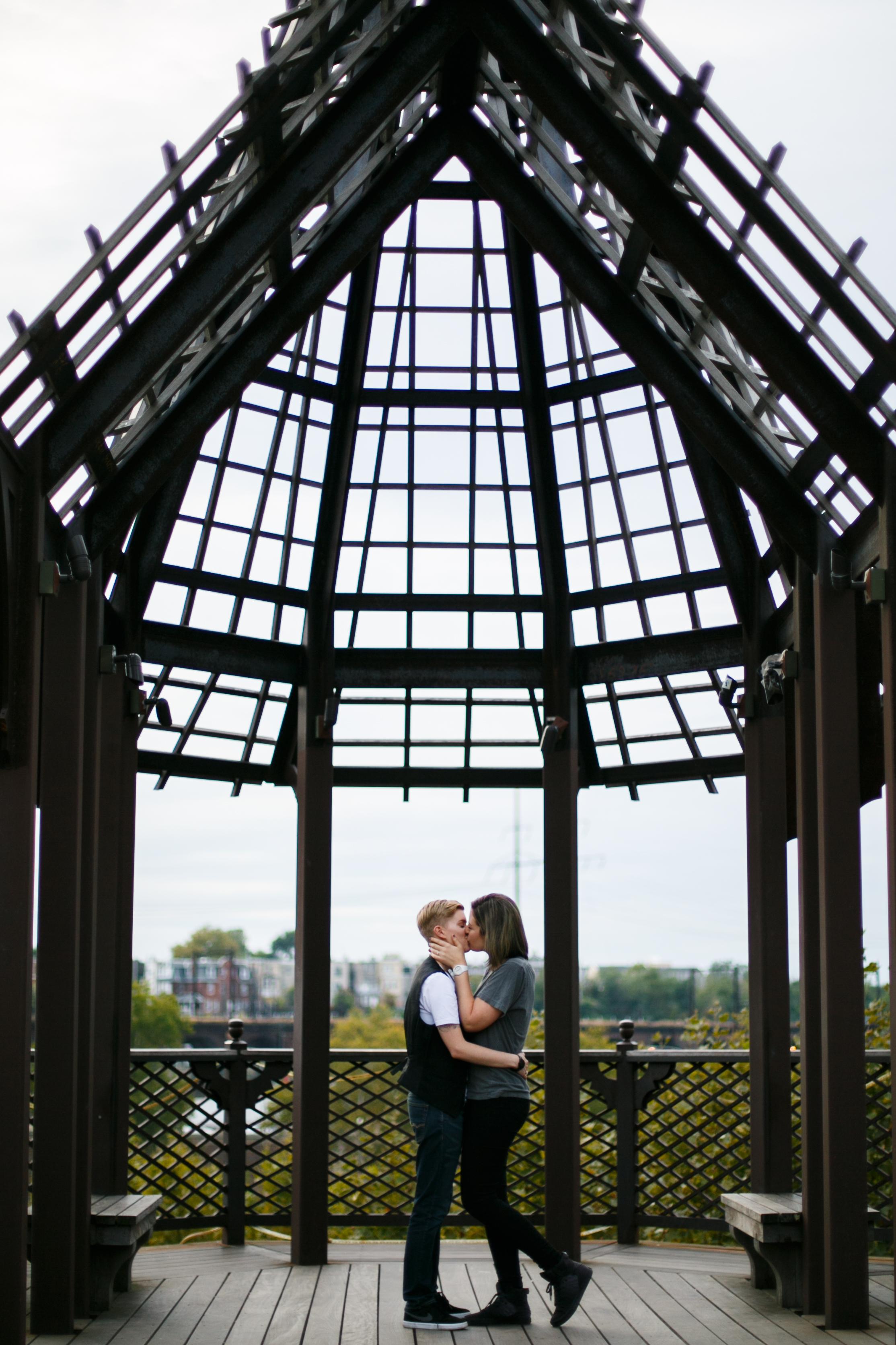 Philadelphia Queer Engagement Session by Lesbian Photographer Amanda Swiger 23