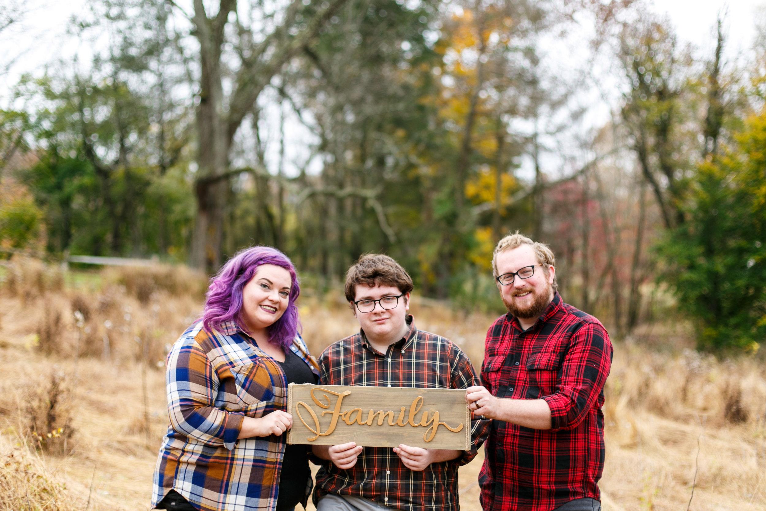 Fall Main Line Pa Family Photographer