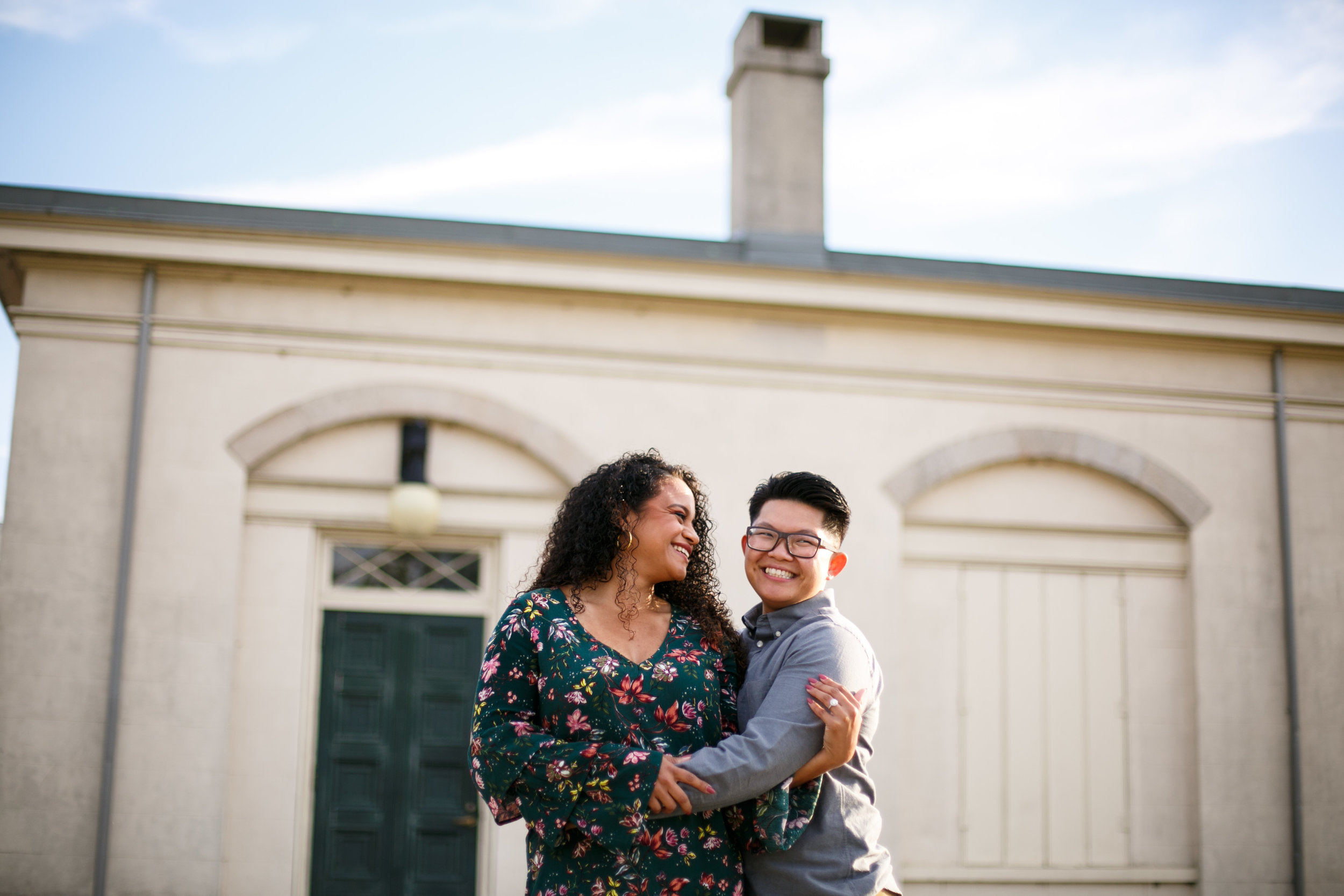 Bianca and Rosea perfectly embody what I love most about my job. They love each other so immensely that anyone around them can feel it. And I am stupid excited to photograph their beautiful love again on their wedding day in August!!