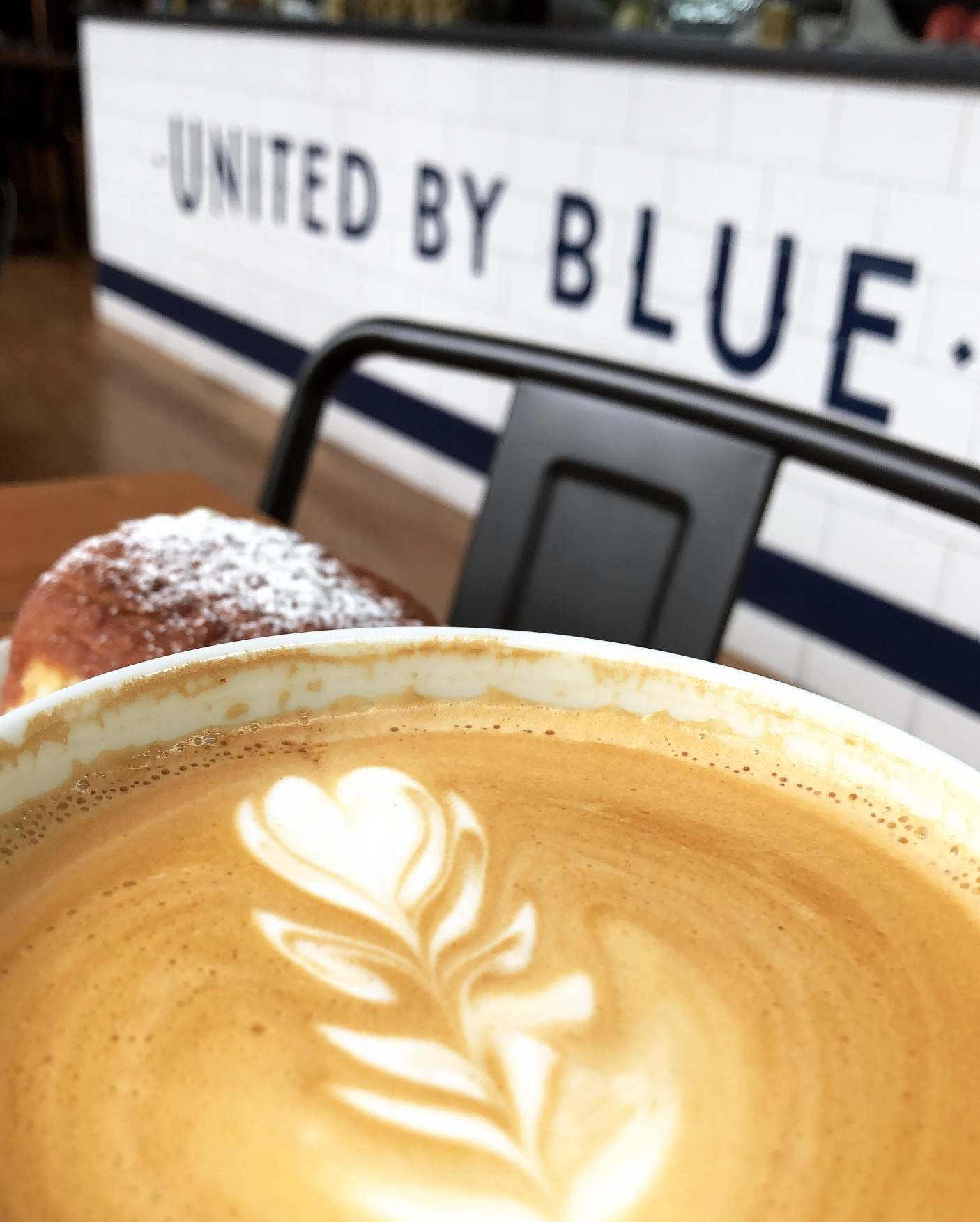 COFFEE - Amanda runs her life and business on coffee and can often be seen sitting at her fav local coffee shop, United By Blue working. Her drink of choice? Vanilla latte, hot or iced!