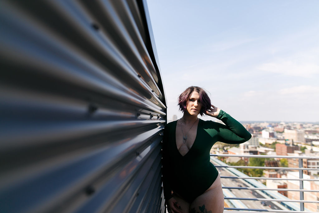 Philly Outdoor Rooftop Boudoir Session by Swiger Photography 1.jpg