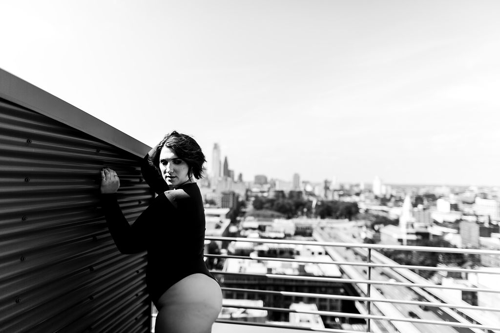 Philly Outdoor Rooftop Boudoir Session by Swiger Photography 4.jpg