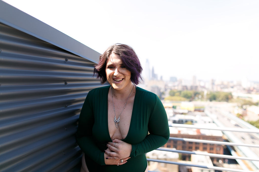 Philly Outdoor Rooftop Boudoir Session by Swiger Photography 6.jpg