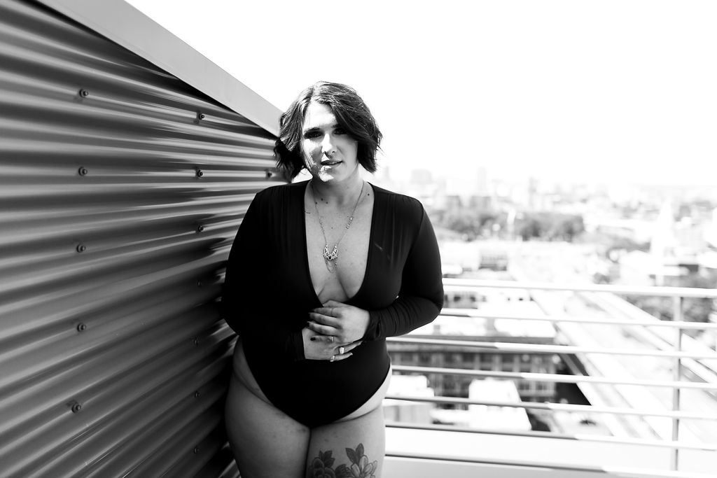 Philly Outdoor Rooftop Boudoir Session by Swiger Photography 7.jpg