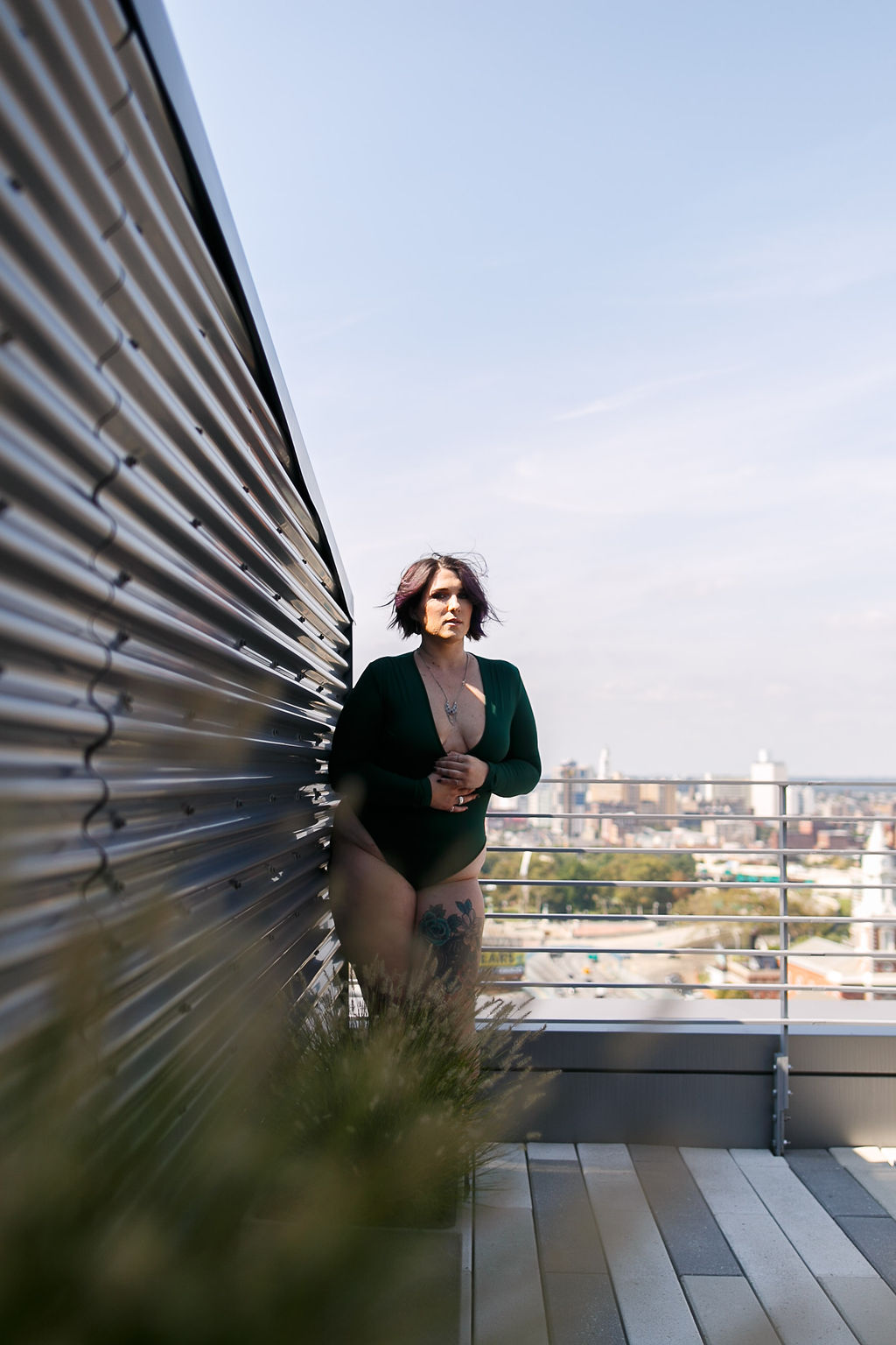 Philly Outdoor Rooftop Boudoir Session by Swiger Photography 9.jpg
