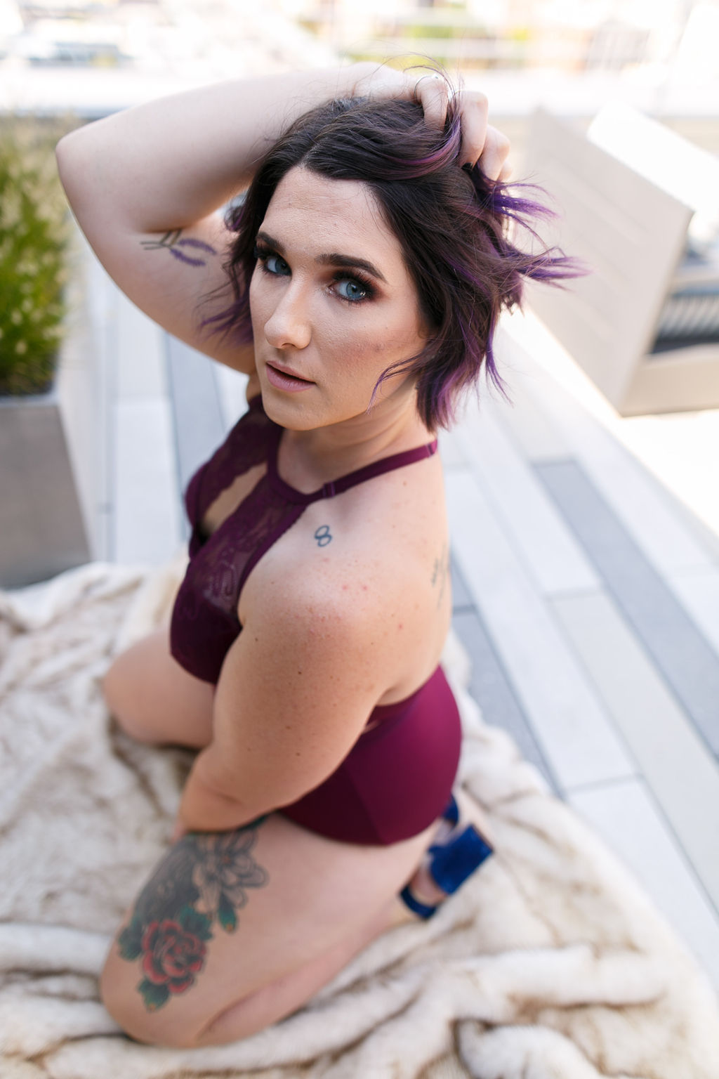Philly Outdoor Rooftop Boudoir Session by Swiger Photography 21.jpg