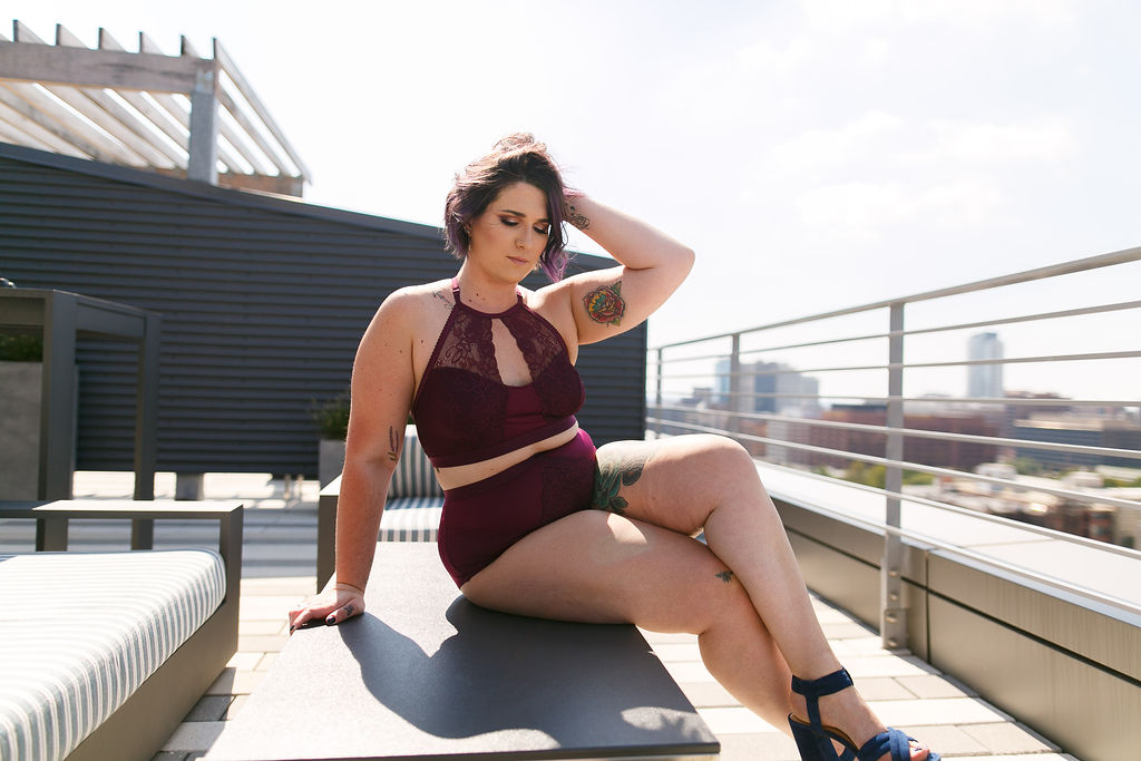 Philly Outdoor Rooftop Boudoir Session by Swiger Photography 24.jpg