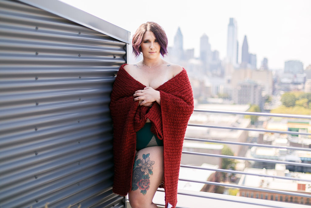 Philly Outdoor Rooftop Boudoir Session by Swiger Photography 41.jpg