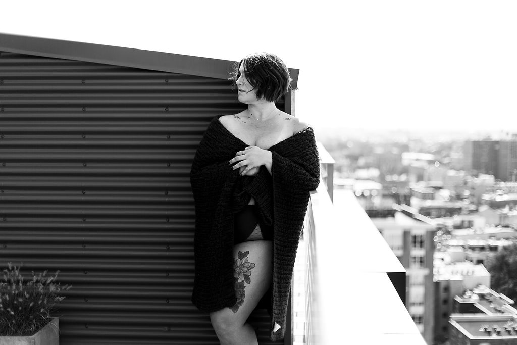 Philly Outdoor Rooftop Boudoir Session by Swiger Photography 42.jpg