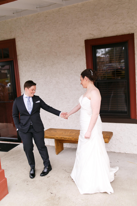 Elise and Shawna LGBT Barn on Bridge Wedding-73.jpg