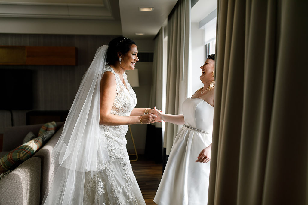 Old City Philly Renaissance Hotel Lesbian Winter Wedding26.jpg