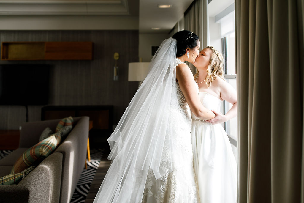 Old City Philly Renaissance Hotel Lesbian Winter Wedding27.jpg
