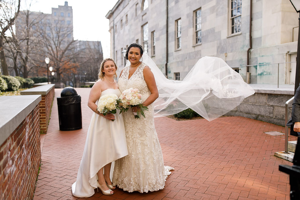 Old City Philly Renaissance Hotel Lesbian Winter Wedding56.jpg