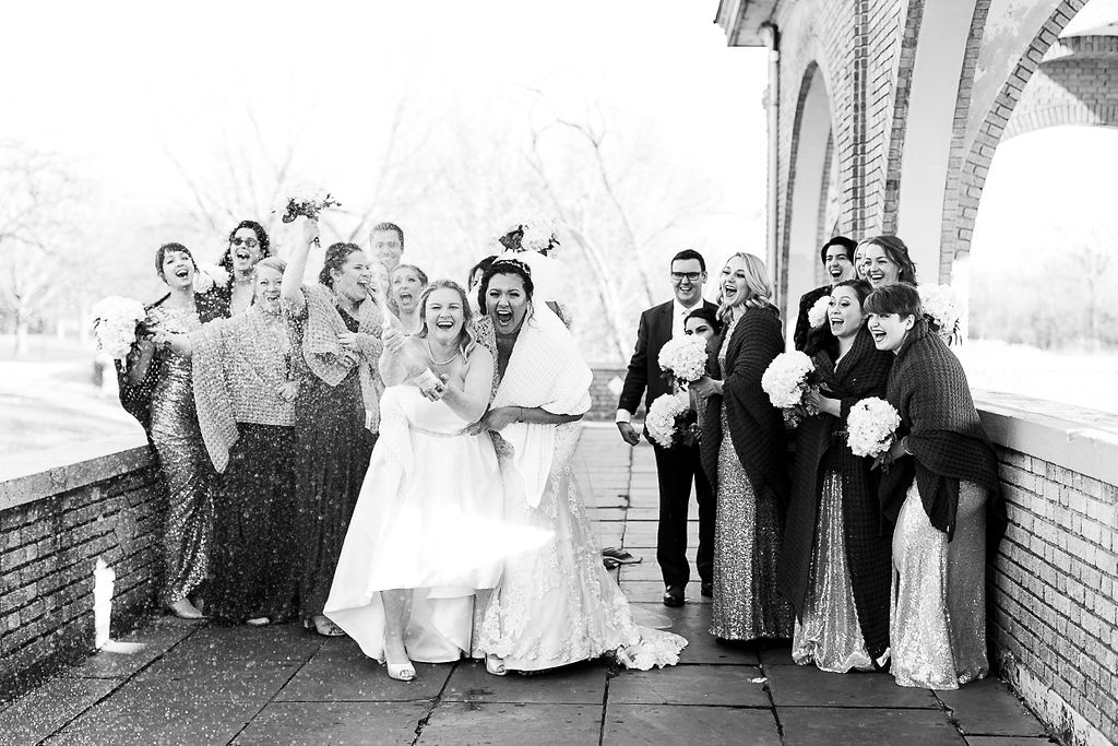 Old City Philly Renaissance Hotel Lesbian Winter Wedding60.jpg