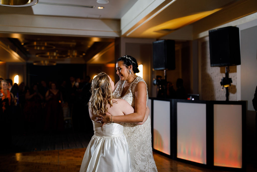 Old City Philly Renaissance Hotel Lesbian Winter Wedding104.jpg