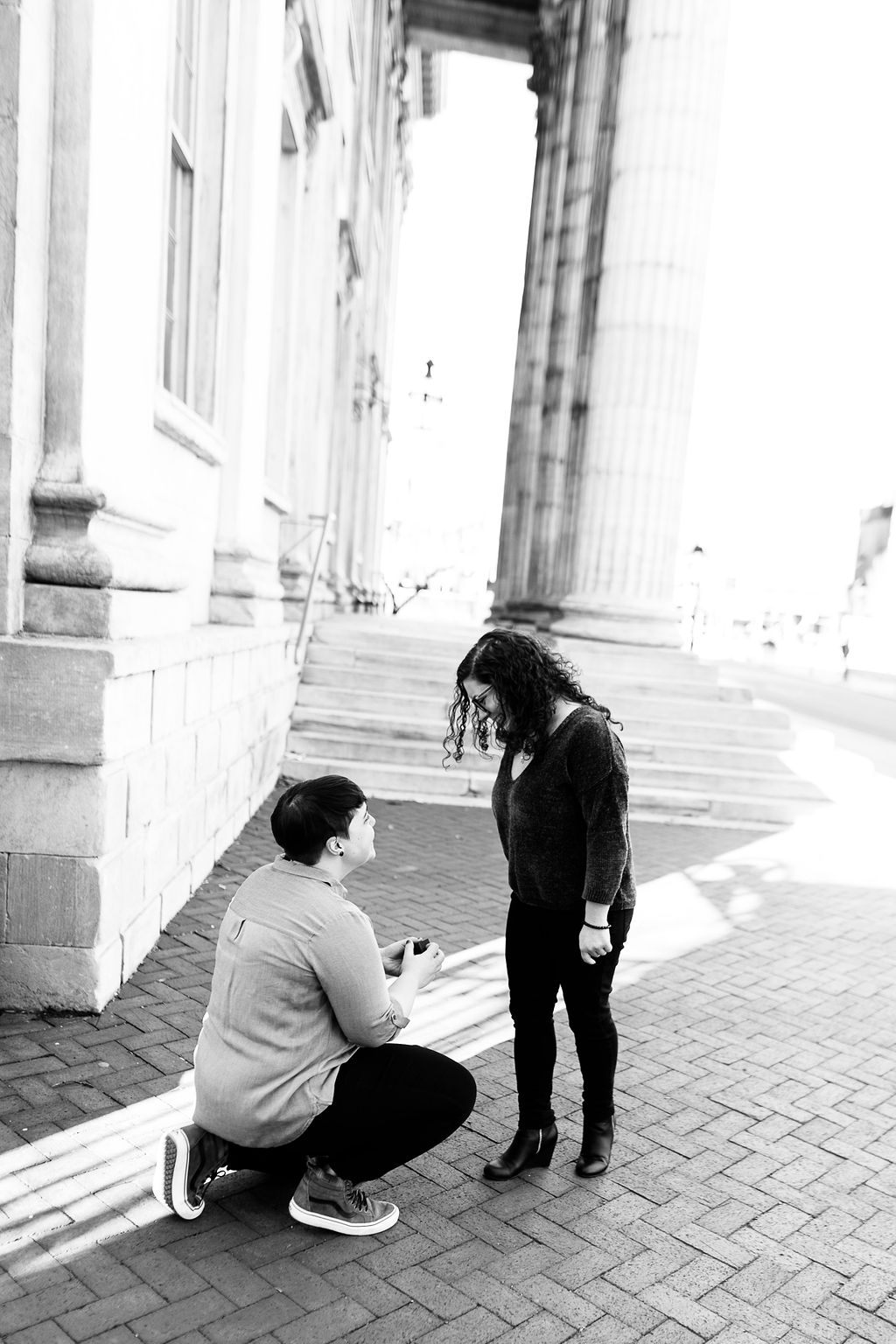 Winter Old City Philadelphia LGBTQ Proposal5.jpg