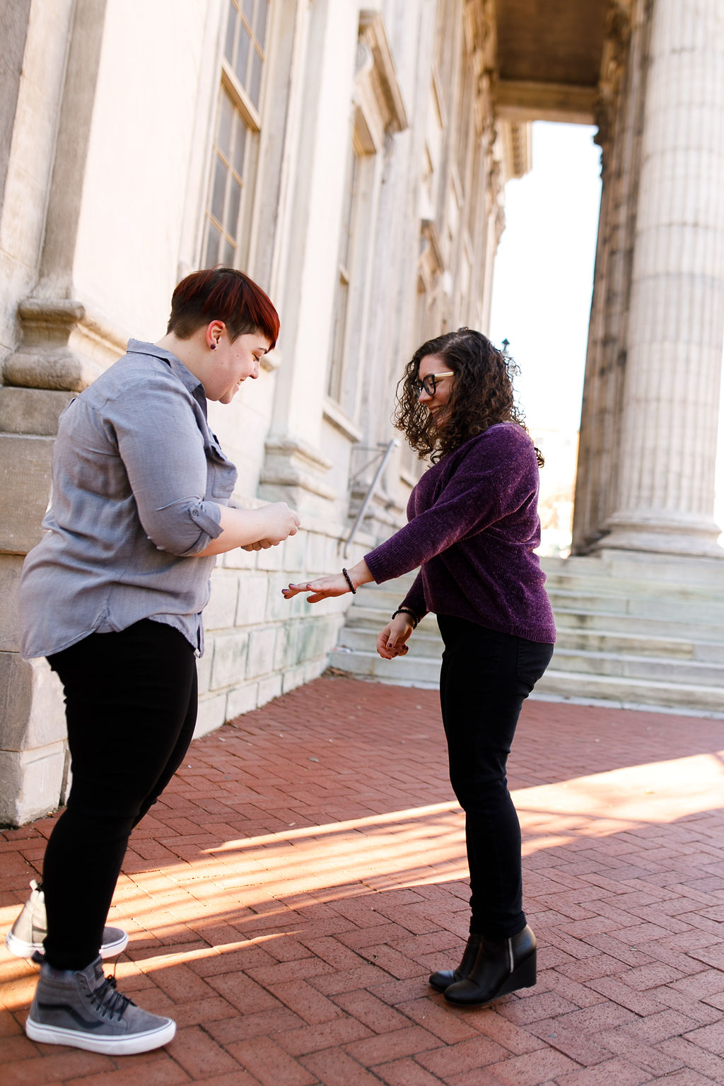 Winter Old City Philadelphia LGBTQ Proposal8.jpg