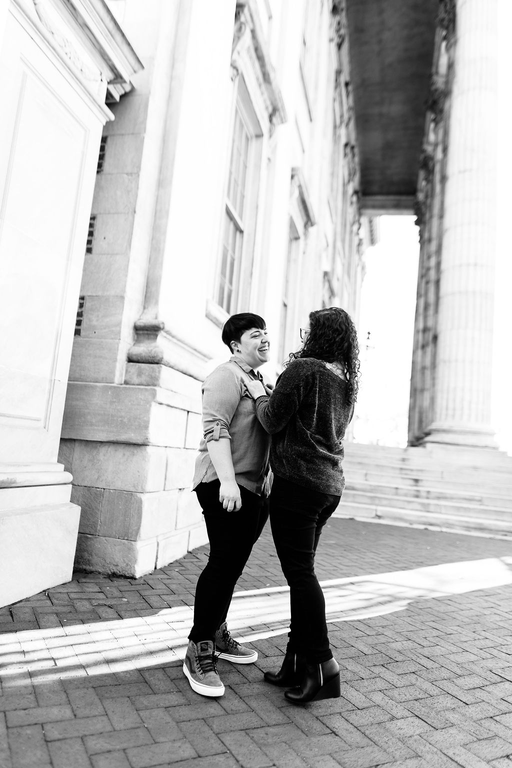 Winter Old City Philadelphia LGBTQ Proposal11.jpg