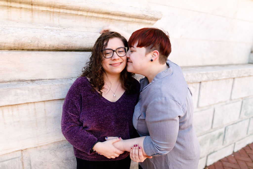 Winter Old City Philadelphia LGBTQ Proposal15.jpg
