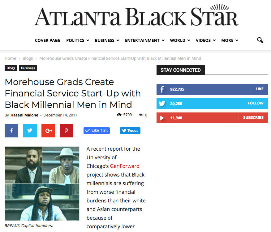 Atlanta Black Star – Dec. 2017
