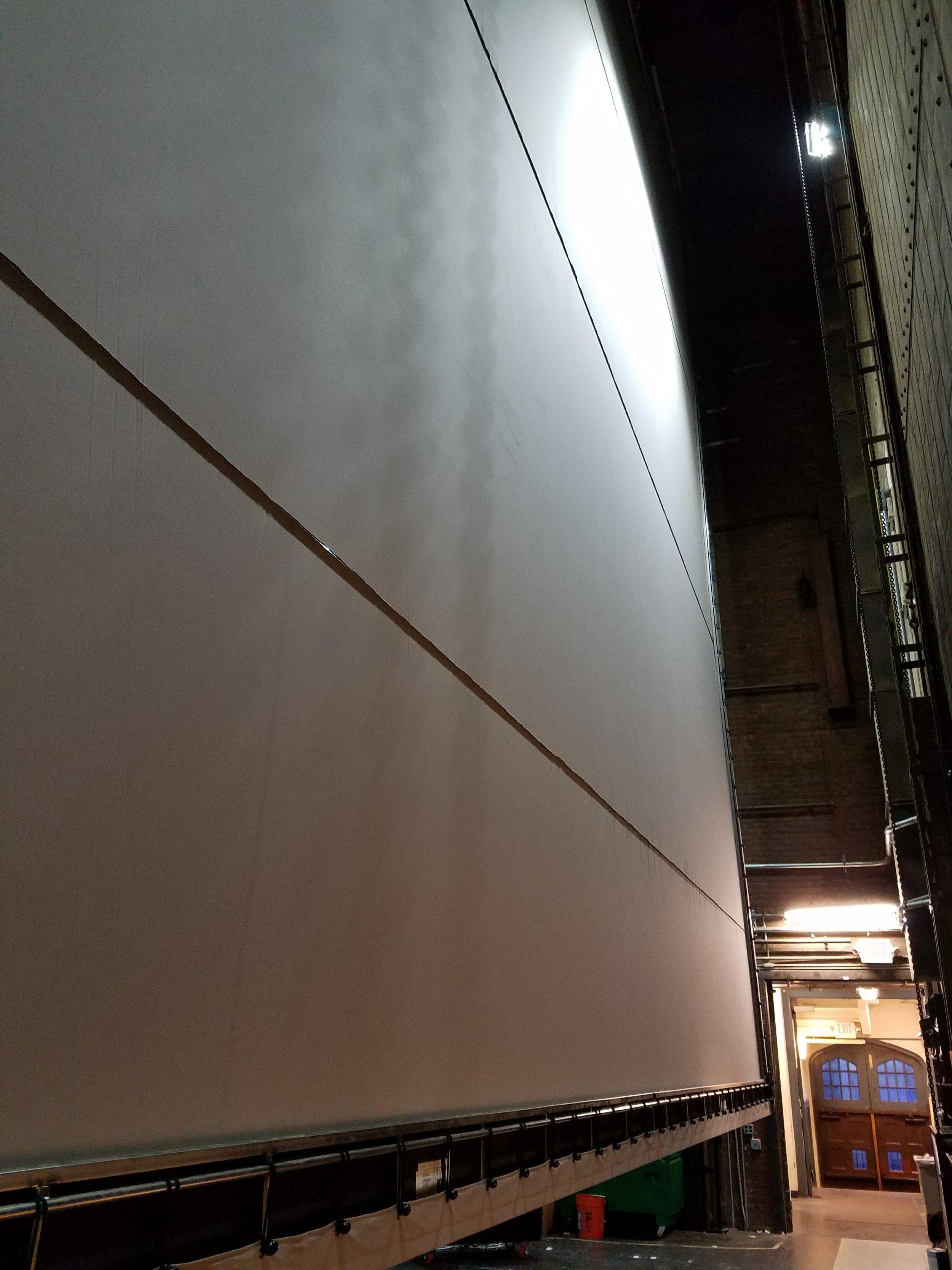 US Wall at installation