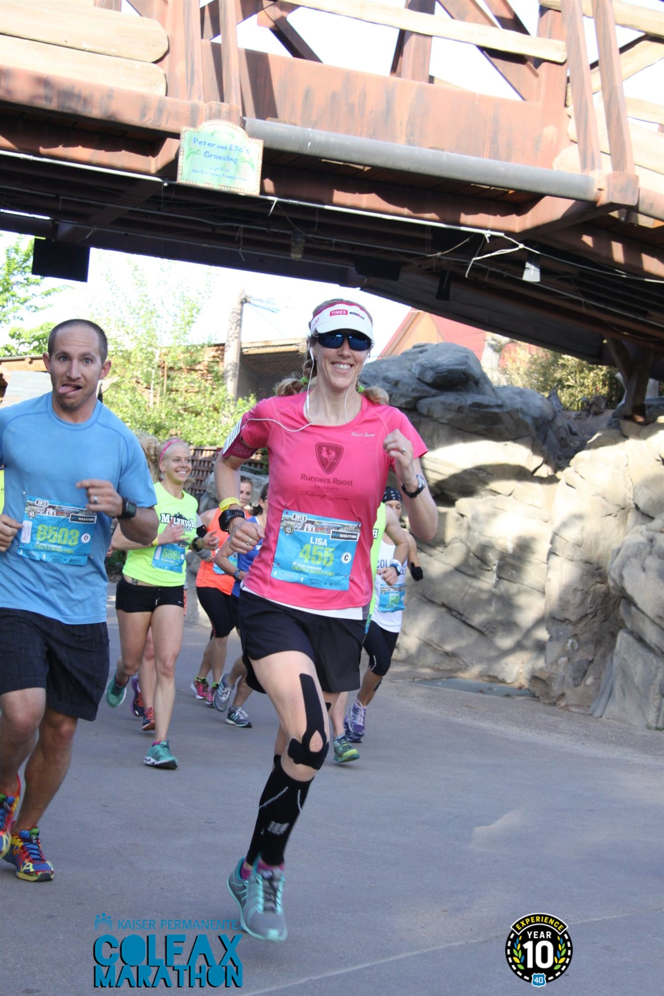 Running the Colfax Half Marathon